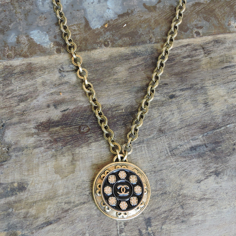 CC Black Clover Necklace - Blackbird General Store