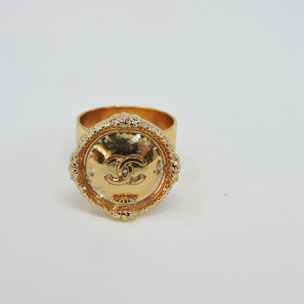 CC Gold Sparkle Ring - Blackbird General Store