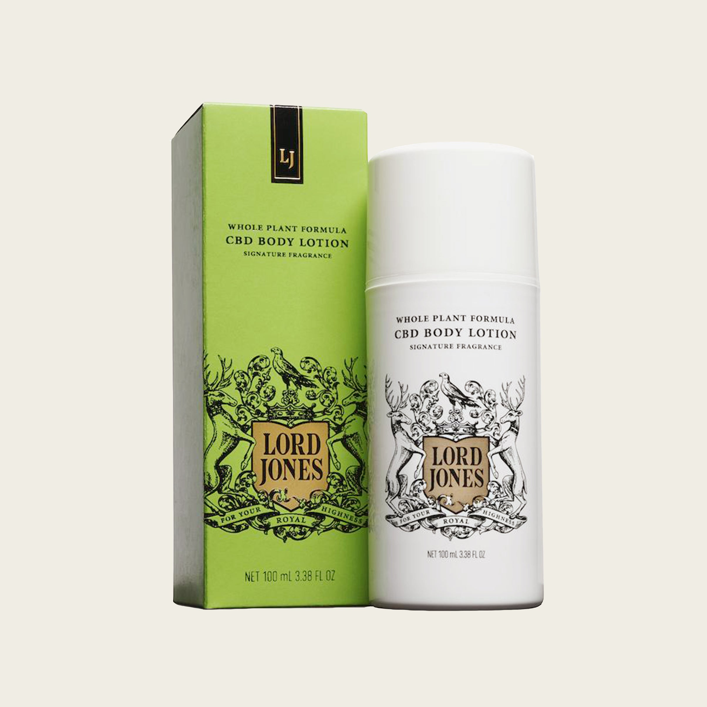 Lord Jones CBD Lotion - Blackbird General Store