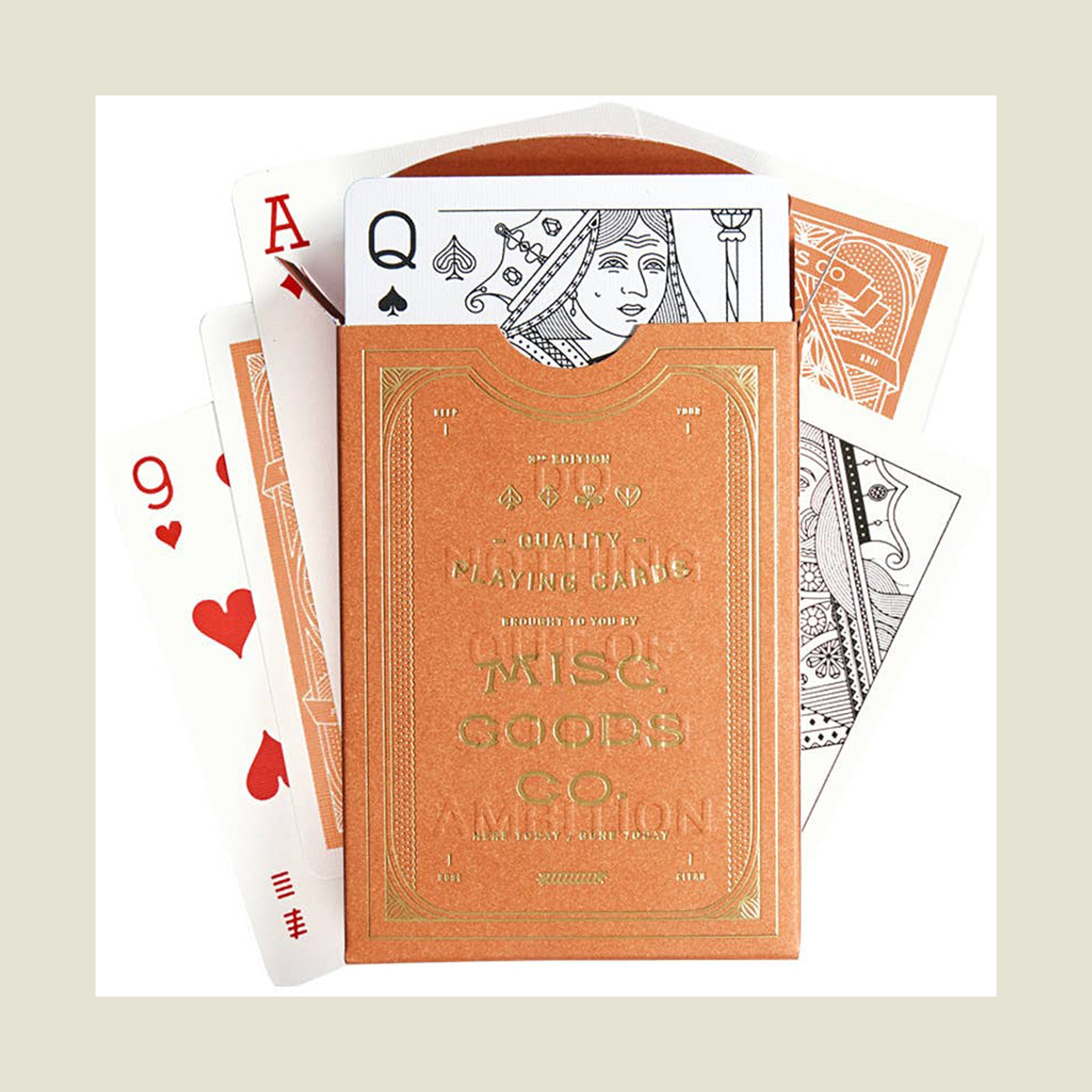 Sandstone Playing Cards - Blackbird General Store