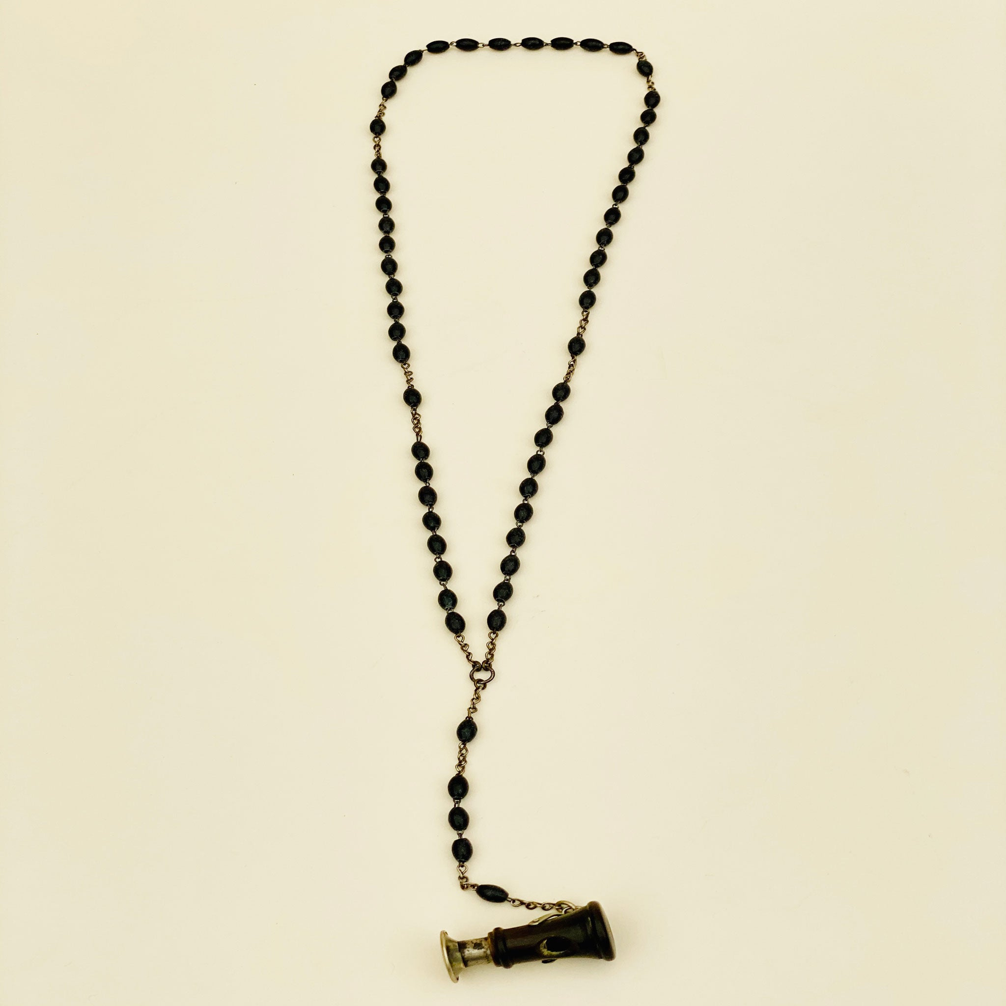 Vintage Cigar Cutter Rosary Necklace - Blackbird General Store
