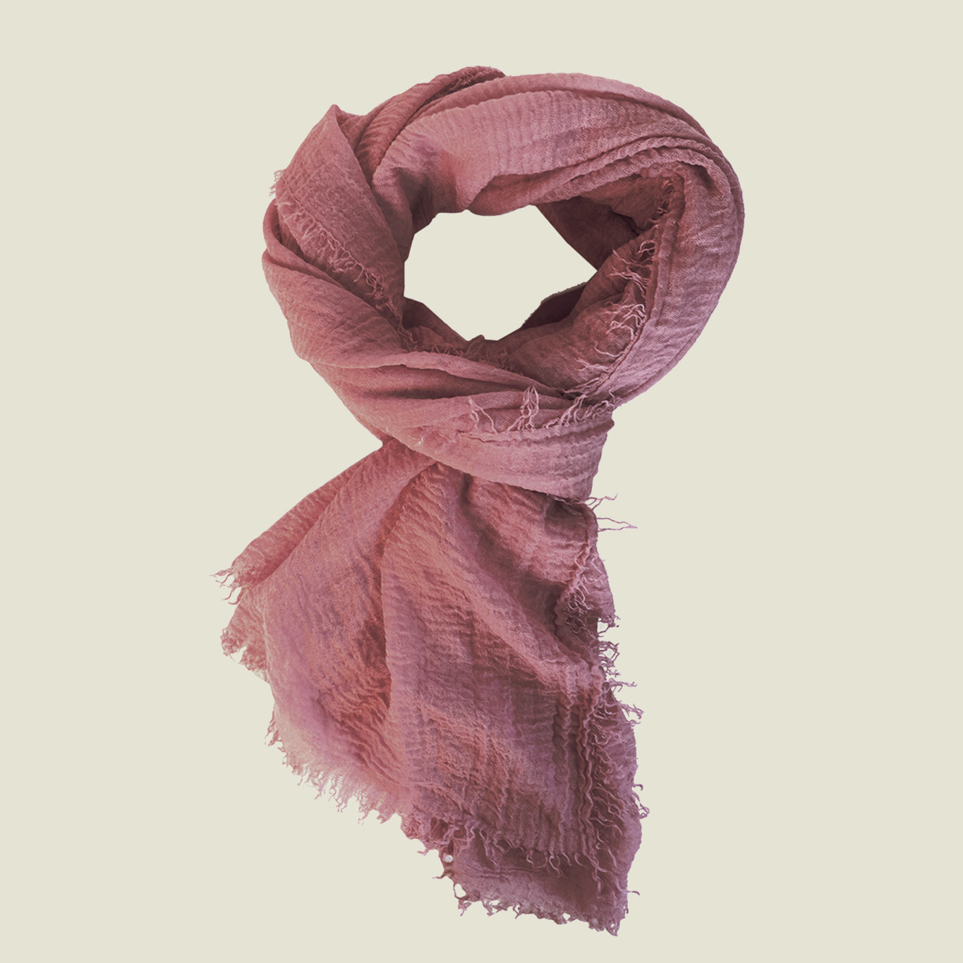 Boho Scarf - Dusty Rose - Blackbird General Store