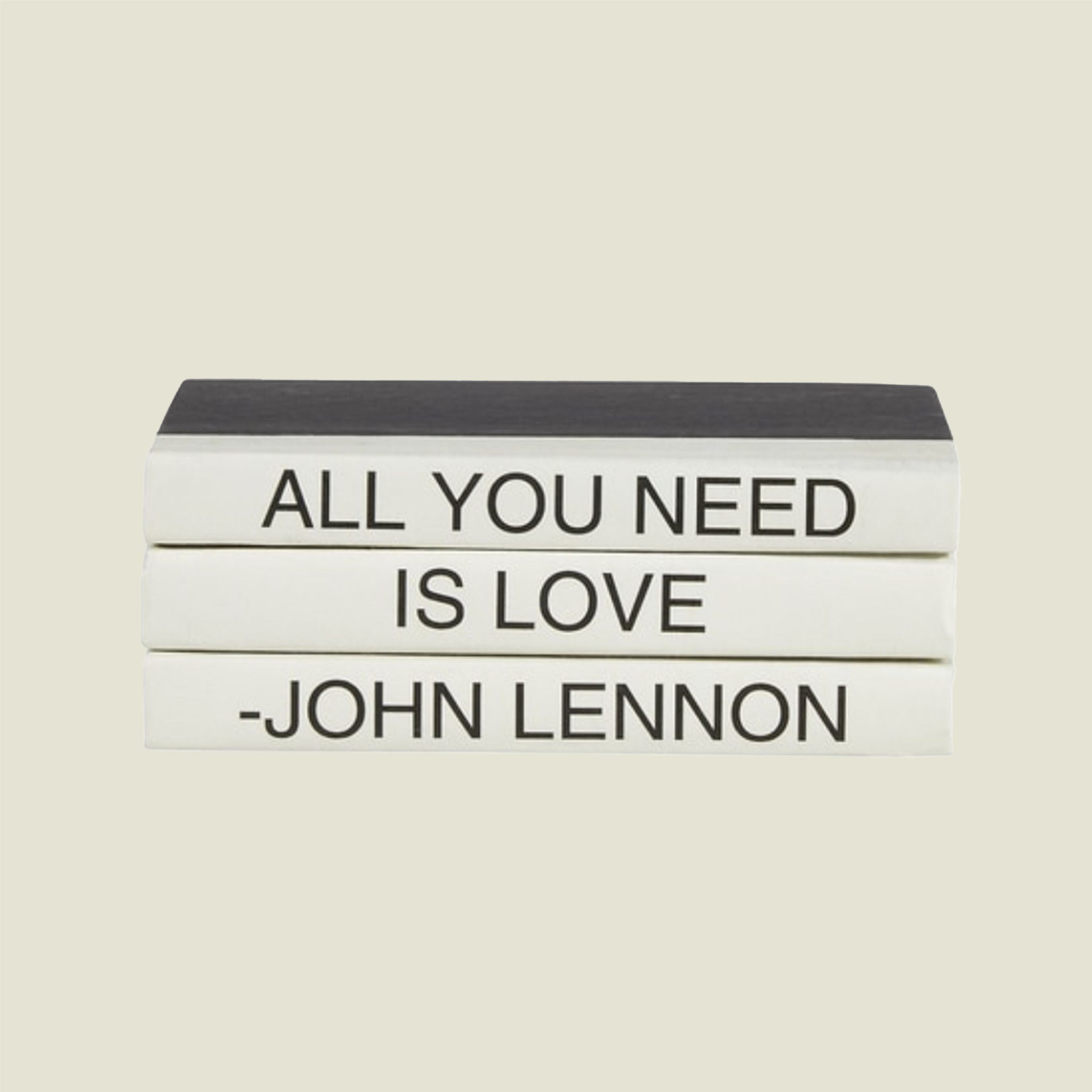 All You Need Is Love Book Stack - Blackbird General Store
