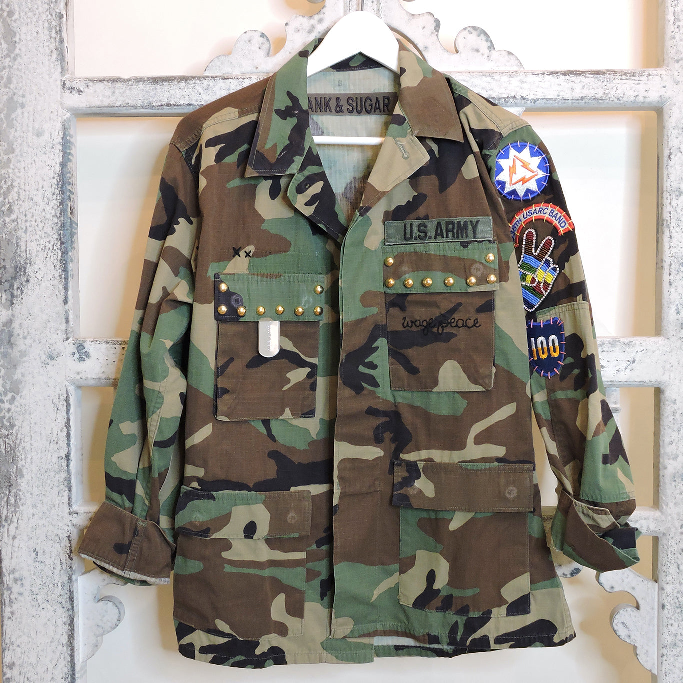 Studded Camo Jacket - Small - Blackbird General Store