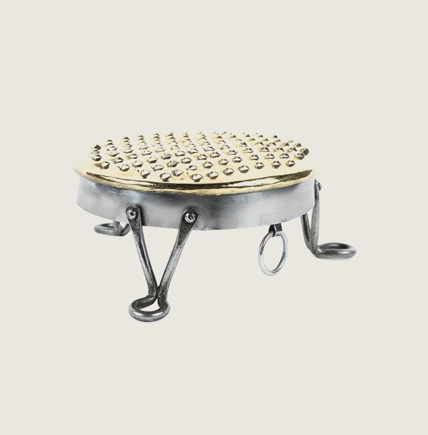 Footed English Grater