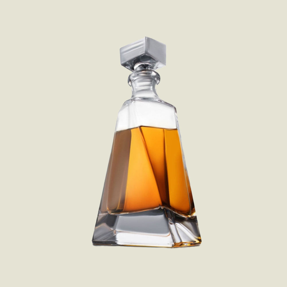 Atlas Crystal Whiskey Decanter - Blackbird General Store