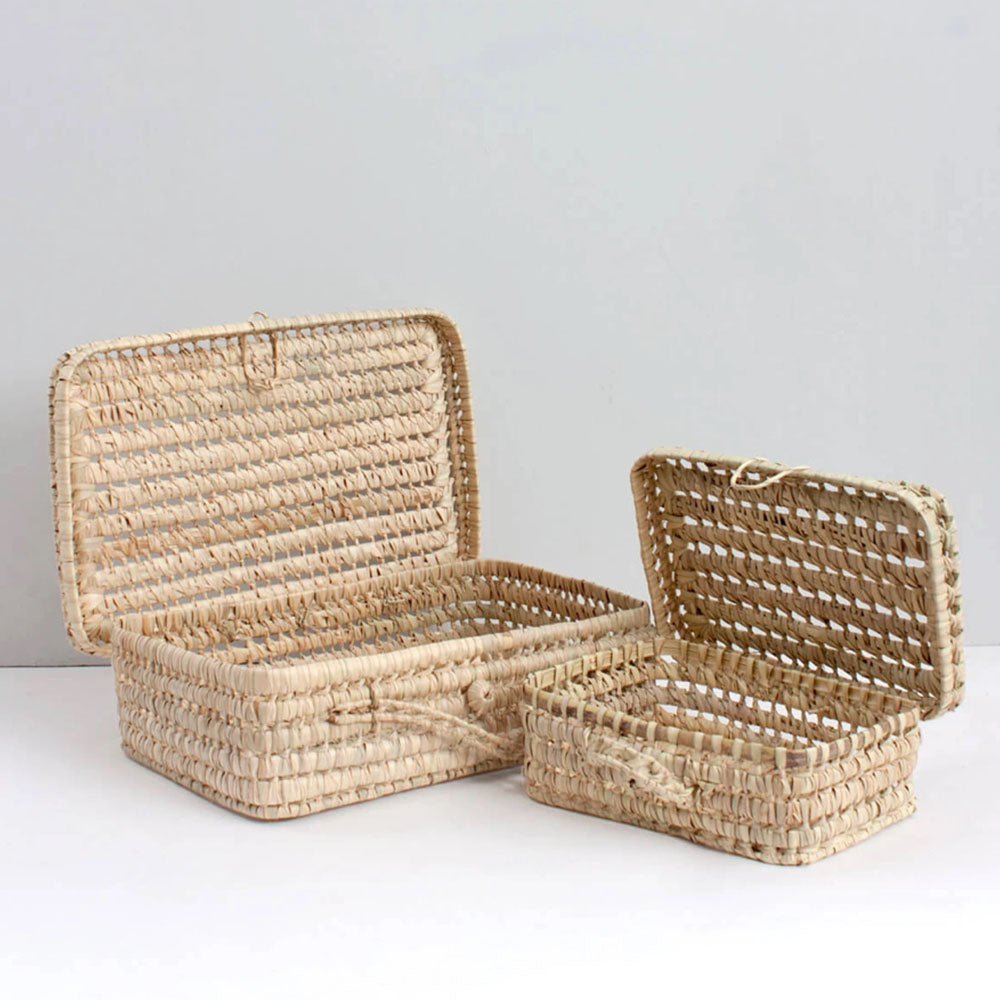 Woven Suitcase - Blackbird General Store
