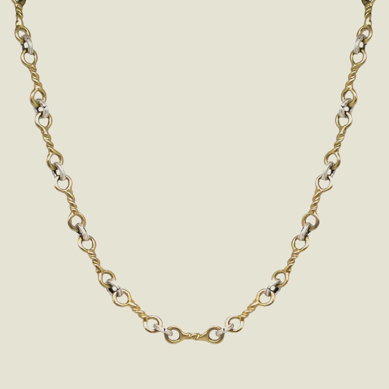 Gold Twisted Ring Necklace - Blackbird General Store