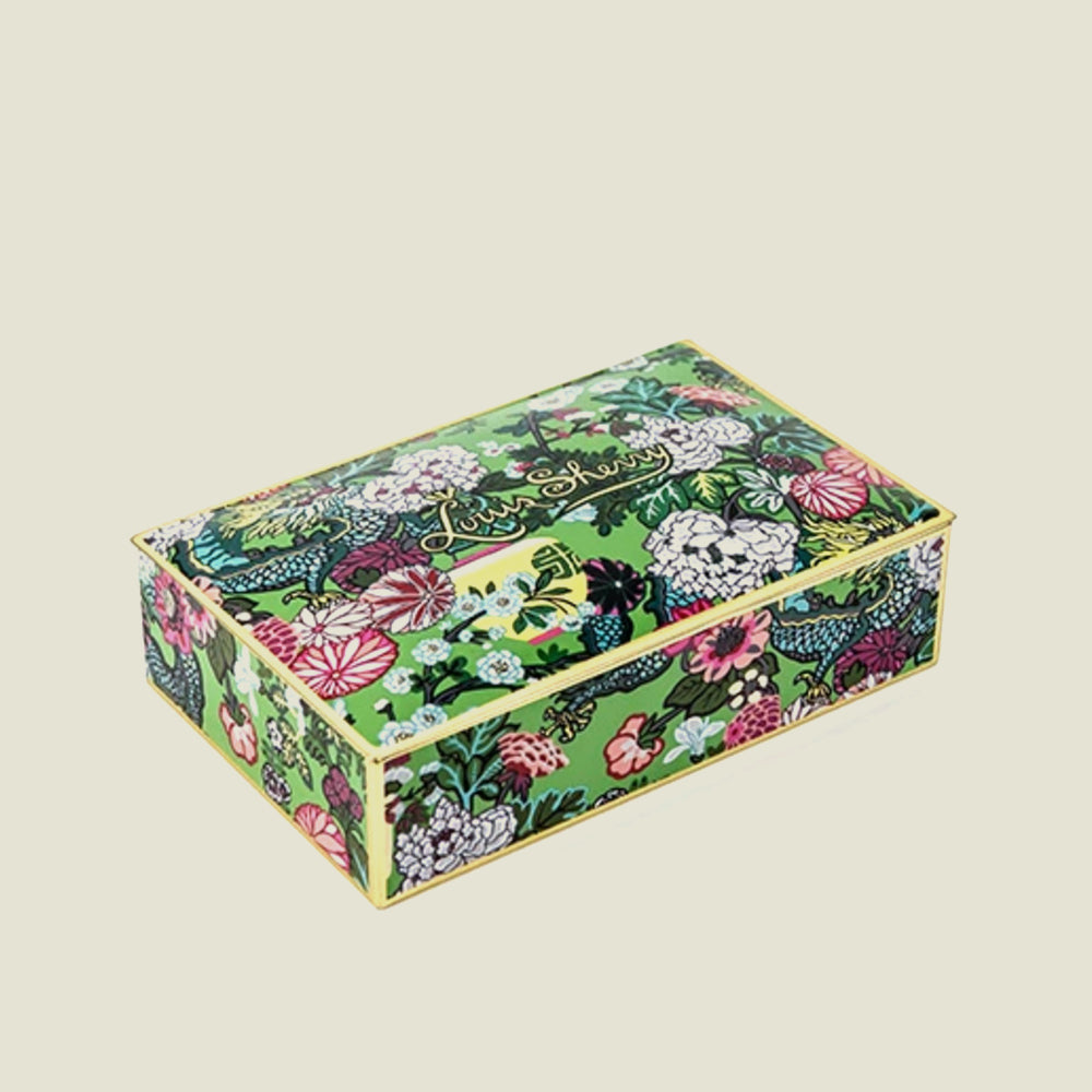 Jade Dragon Chocolate Tin - 12 pc - Blackbird General Store