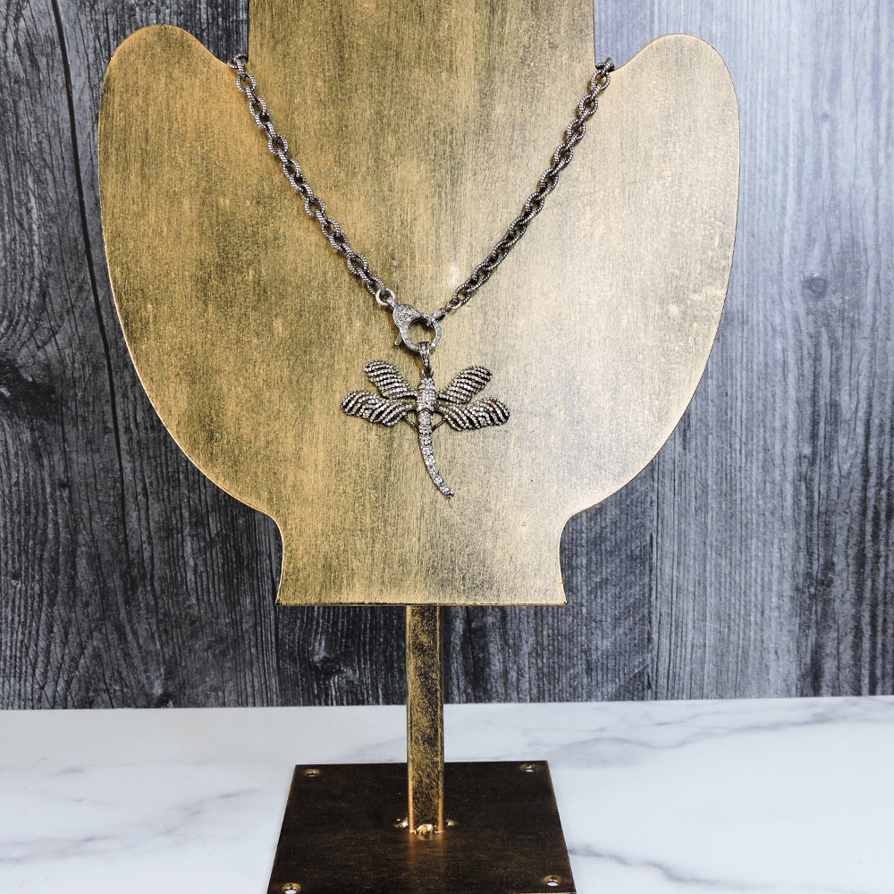 Pave Diamond Dragonfly - Blackbird General Store
