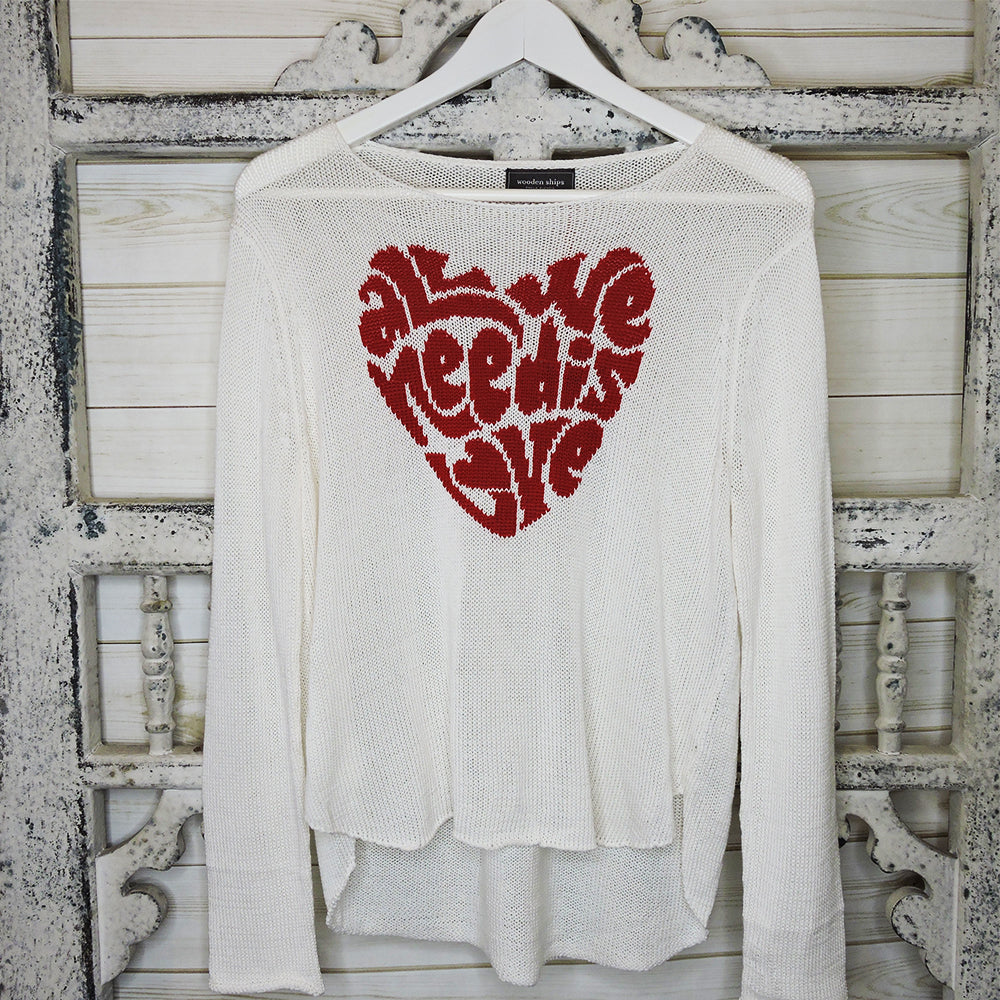 All Love Sweater - Blackbird General Store