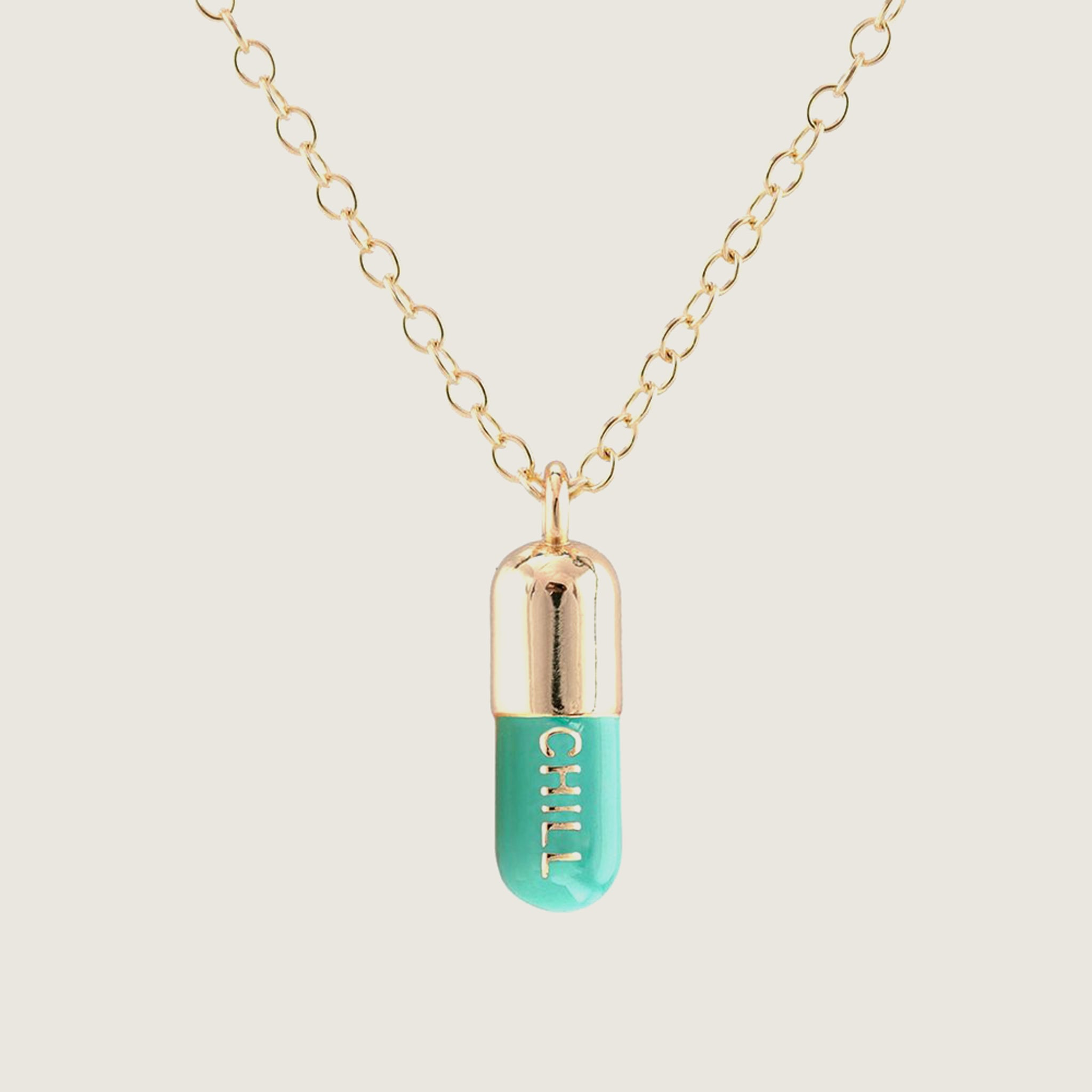 Chill Pill Necklace - Blackbird General Store