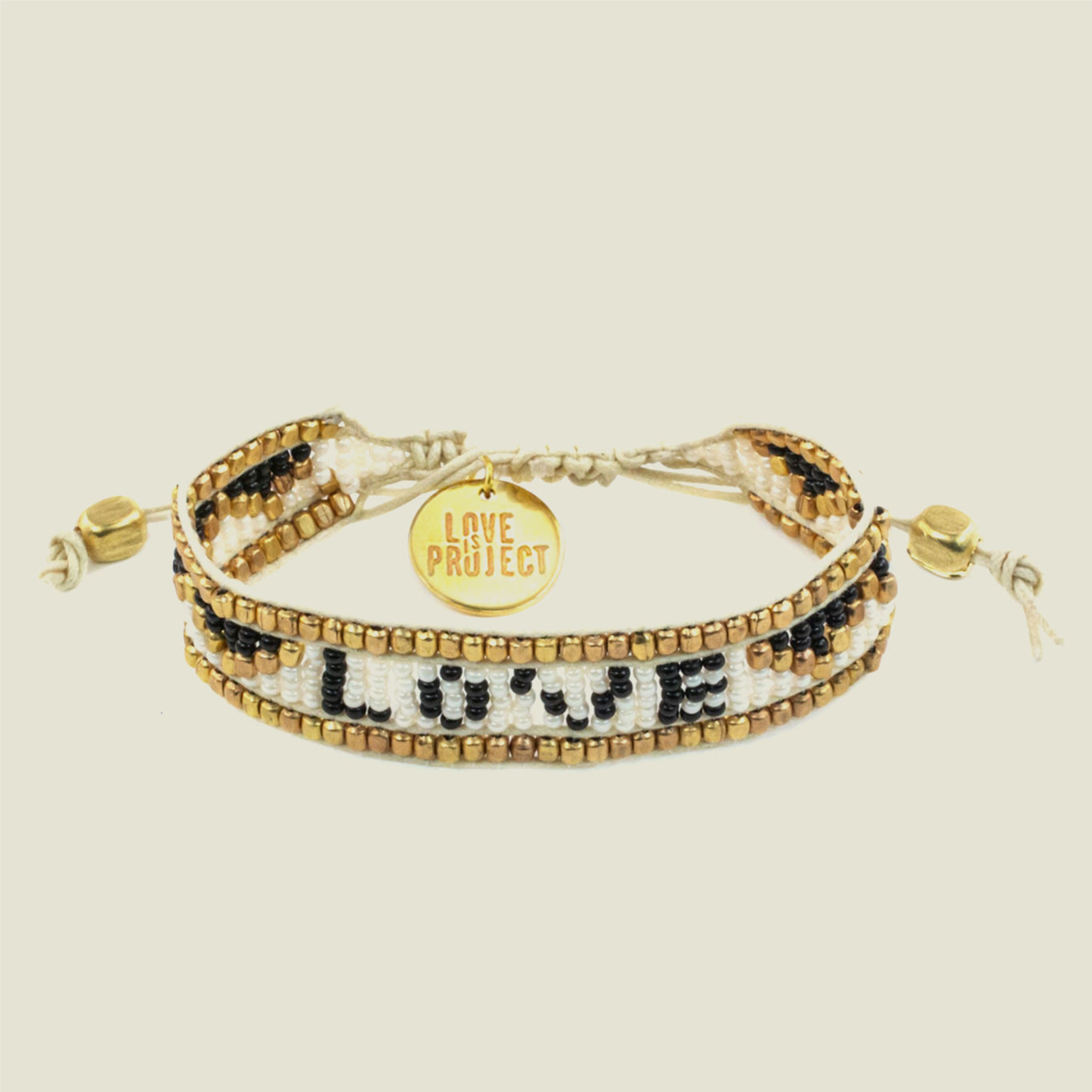White LOVE Bracelet - Blackbird General Store