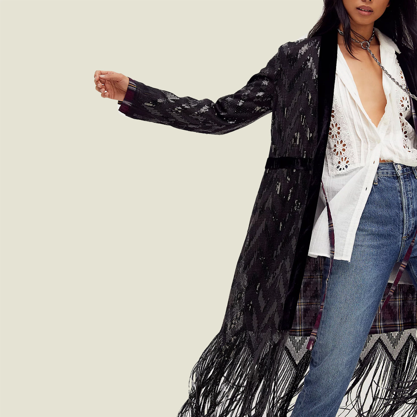 Stardust Sequin Duster - Blackbird General Store
