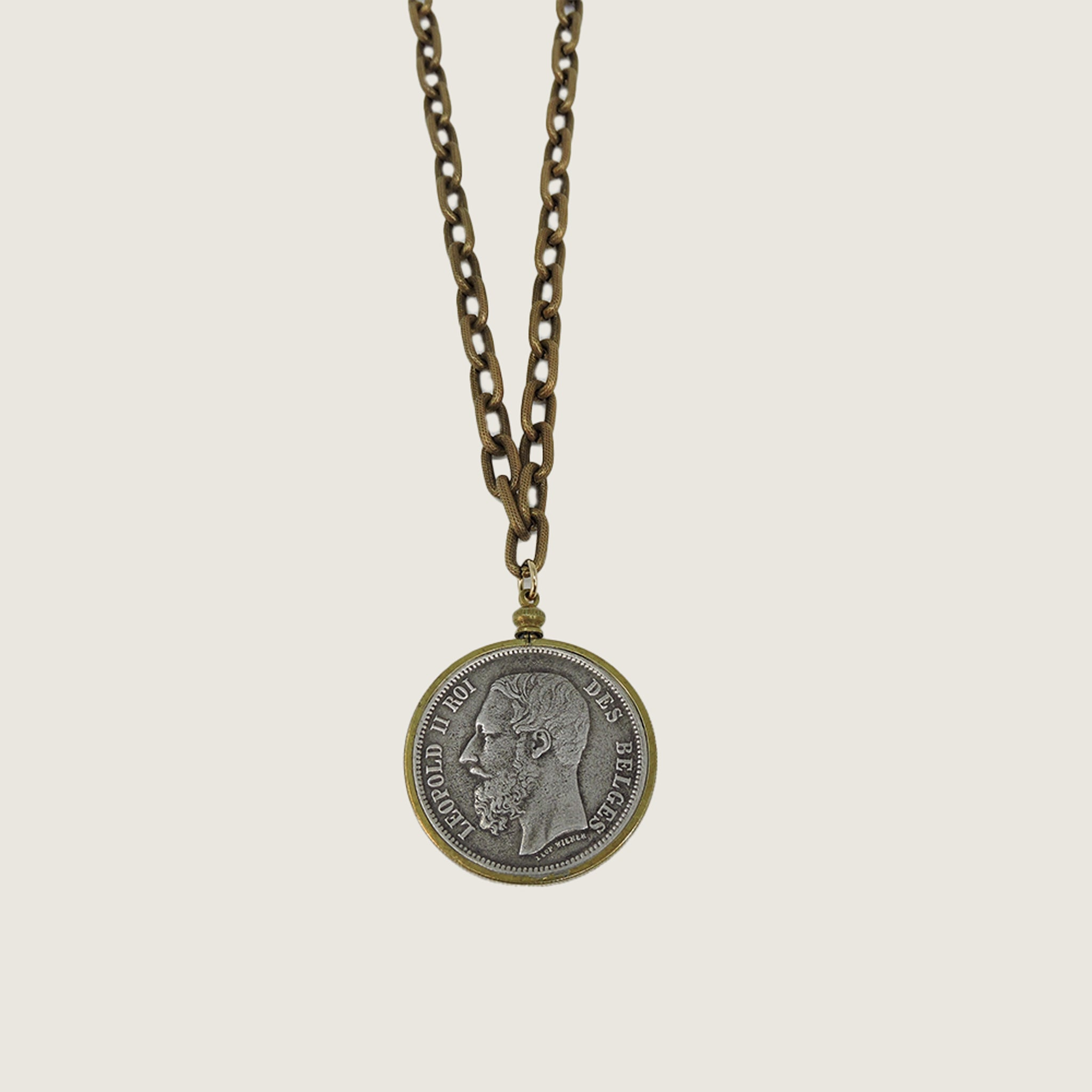 Belgium Coin Necklace
