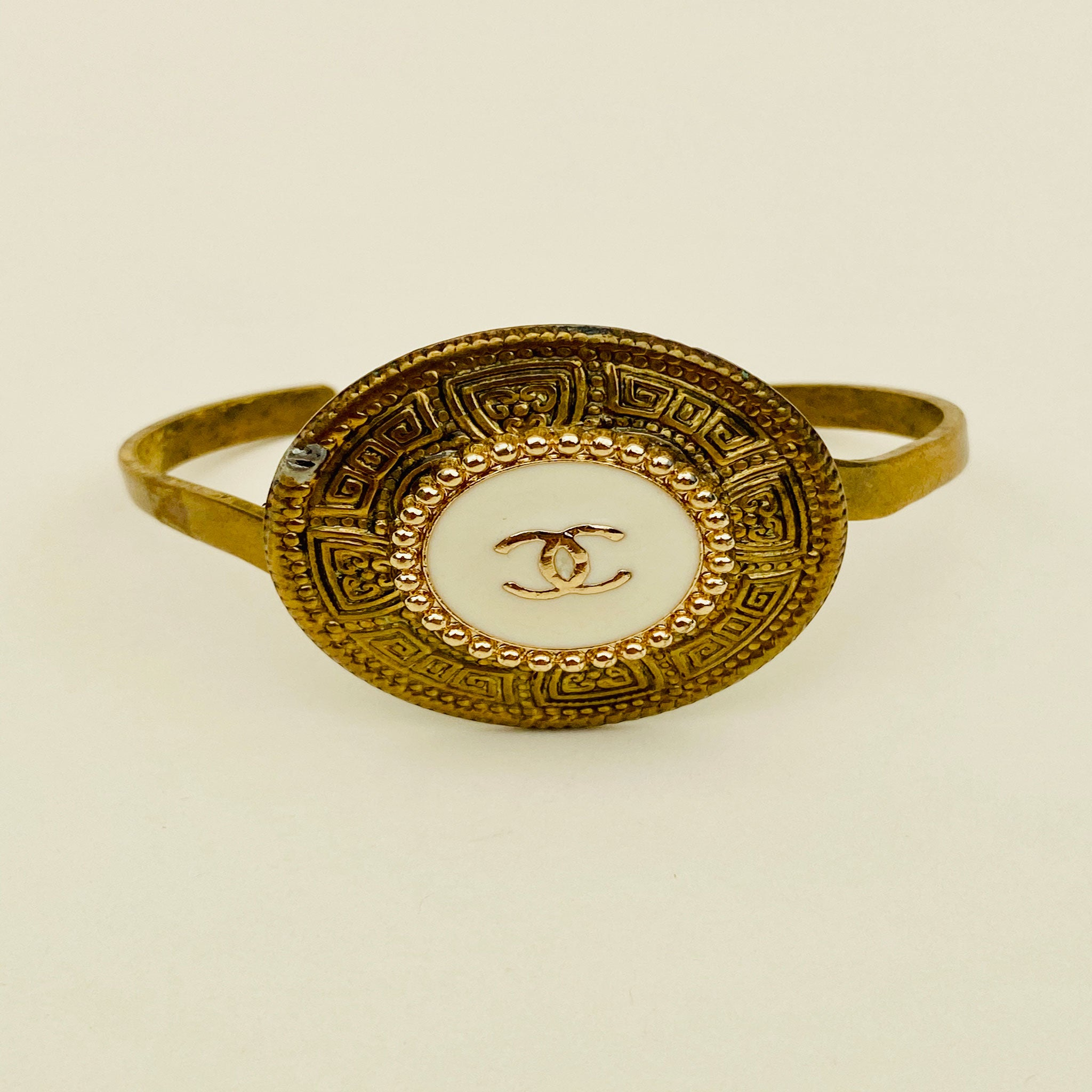 CC Gold/White Cuff - Blackbird General Store