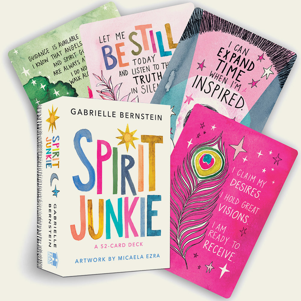 Spirit Junkie - A 52 Card Deck - Blackbird General Store