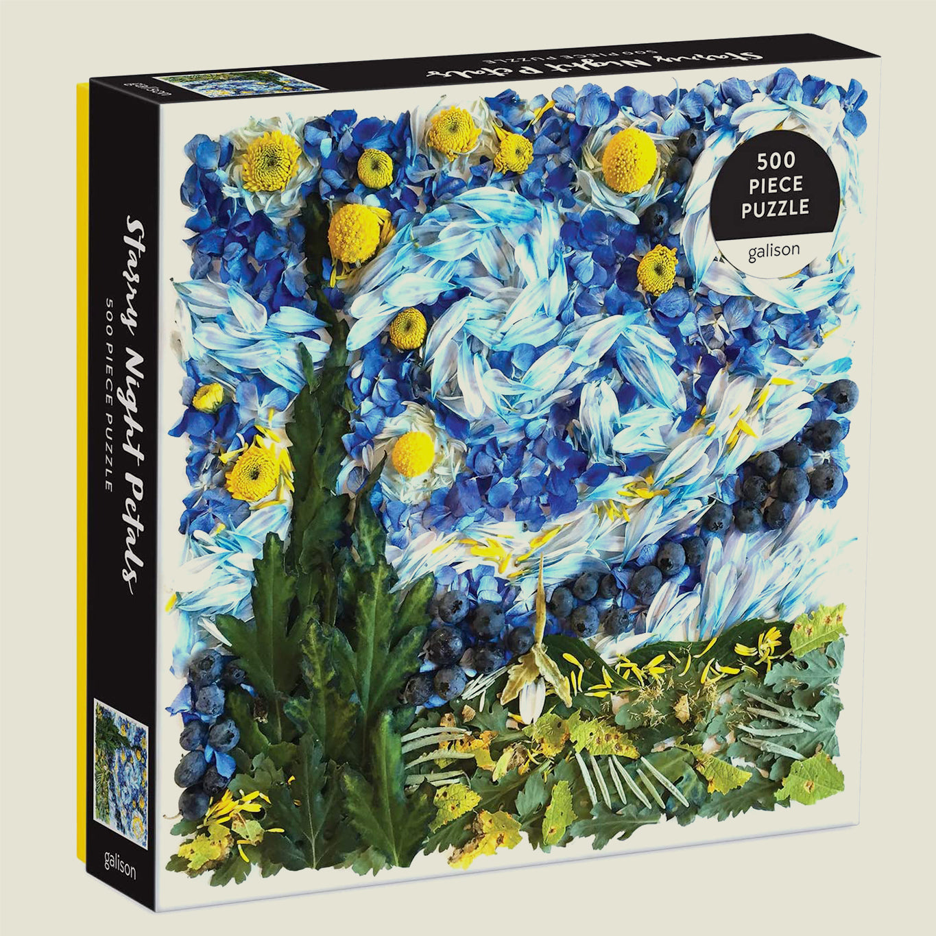 Starry Night Petals Puzzle - Blackbird General Store