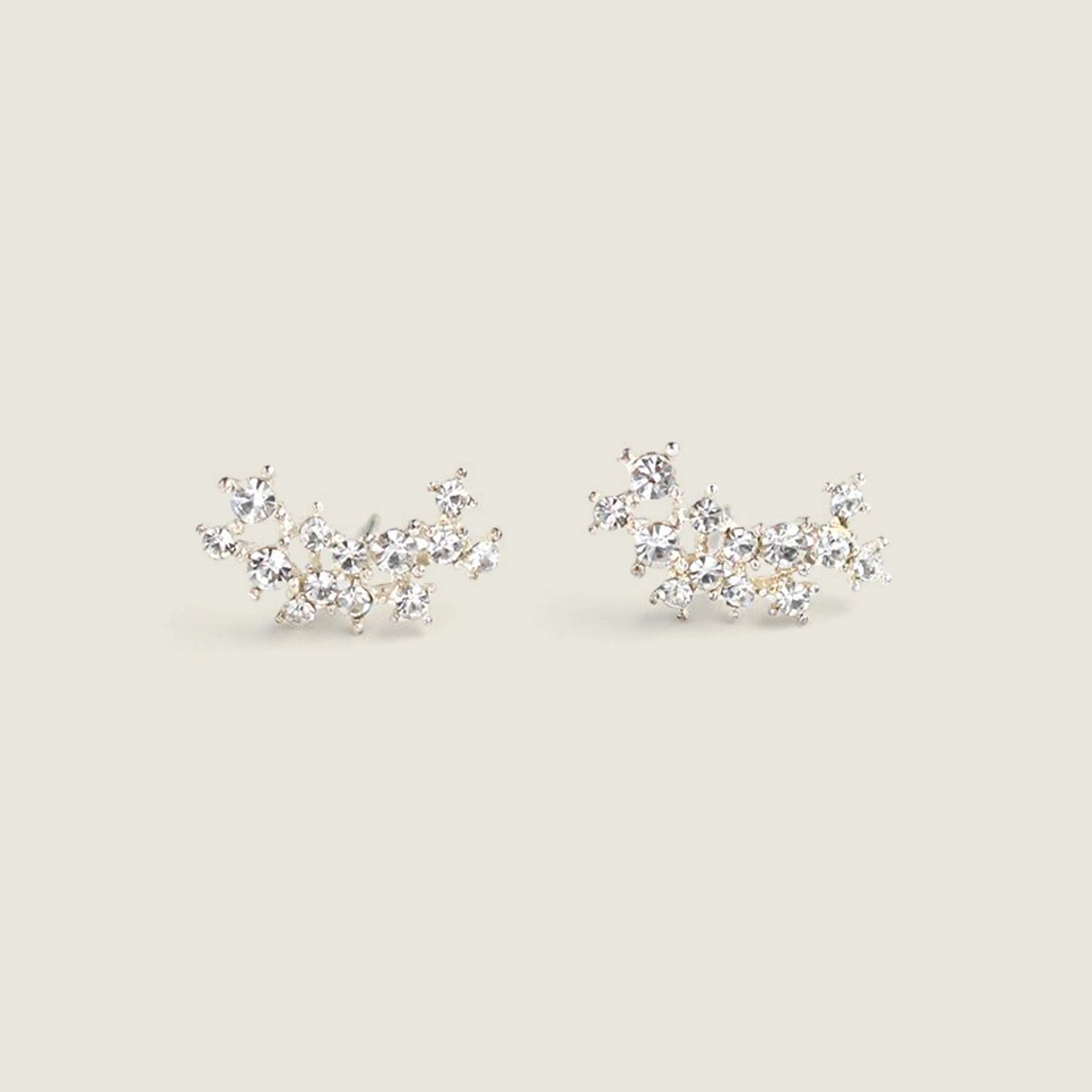 Stardust Climber Earrings - Clear
