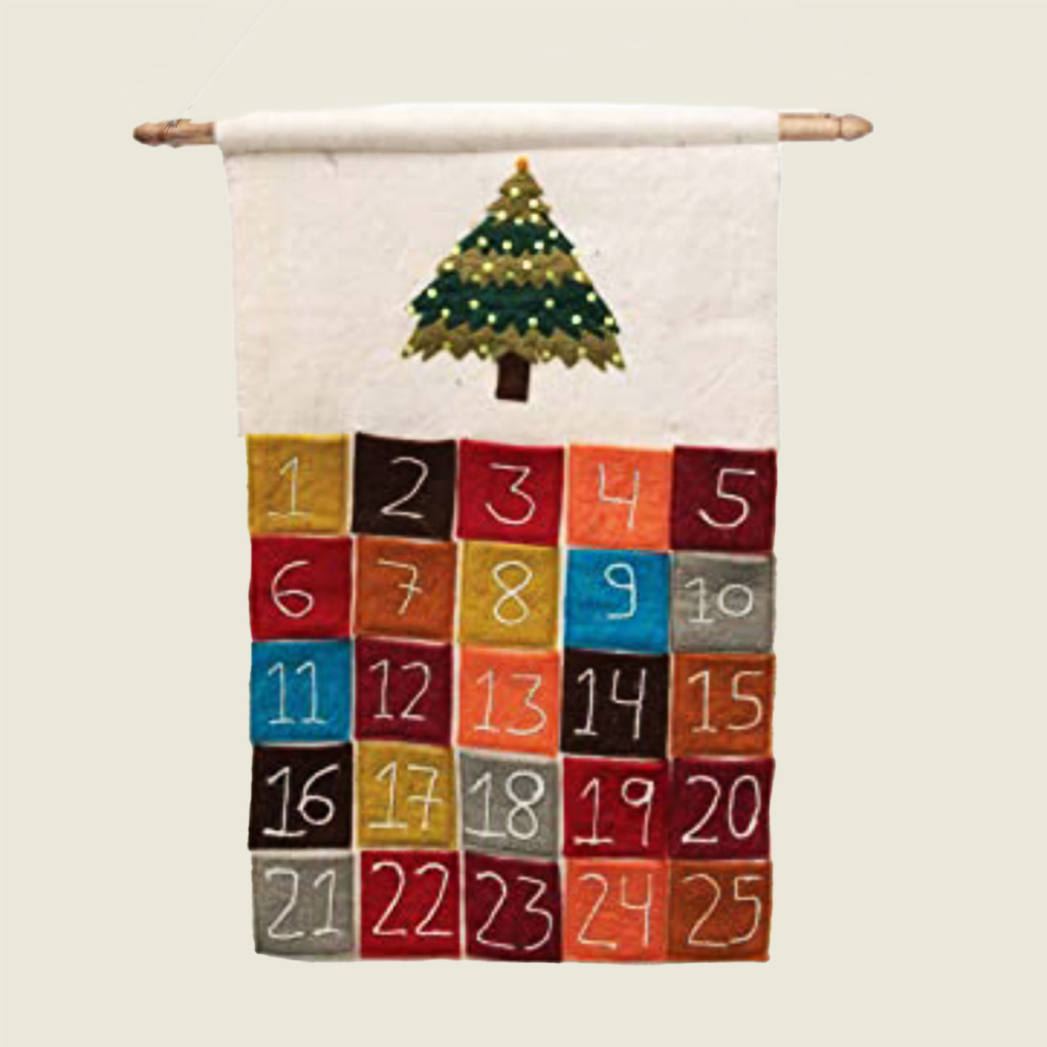 Holiday Hanging Felt Banner - Blackbird General Store