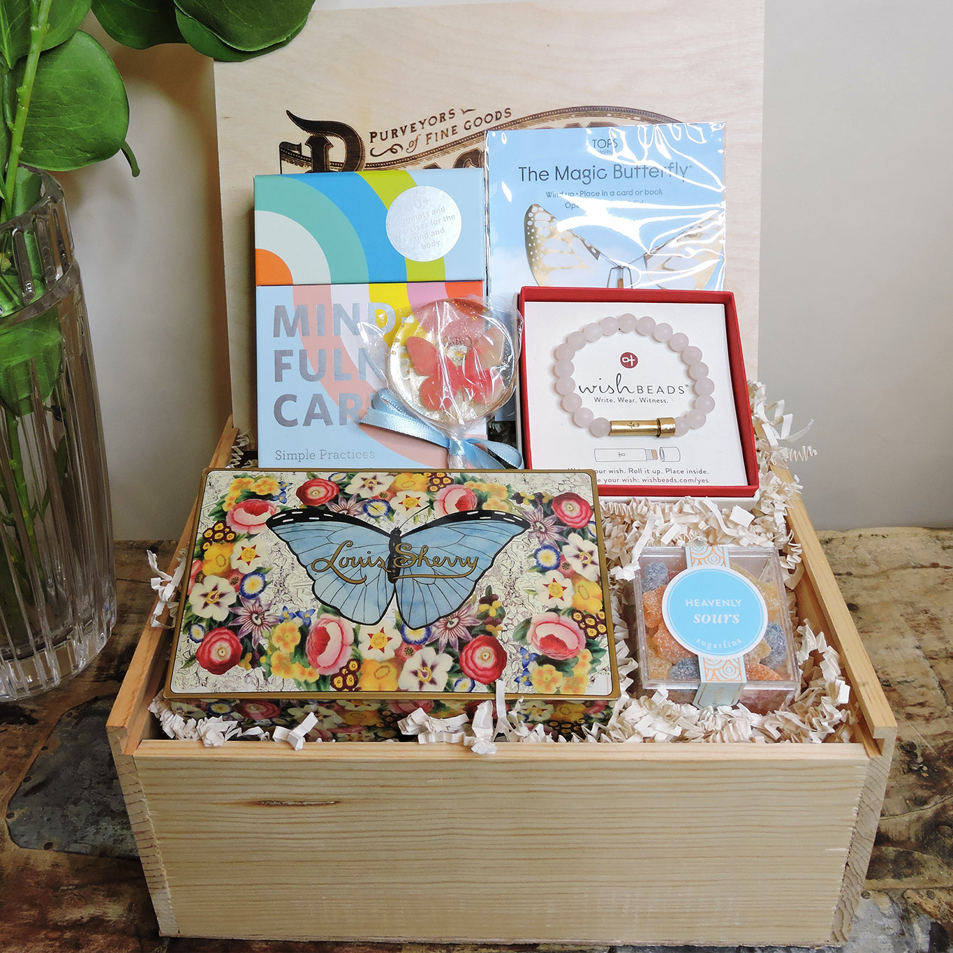 Beautiful Butterfly Gift Box