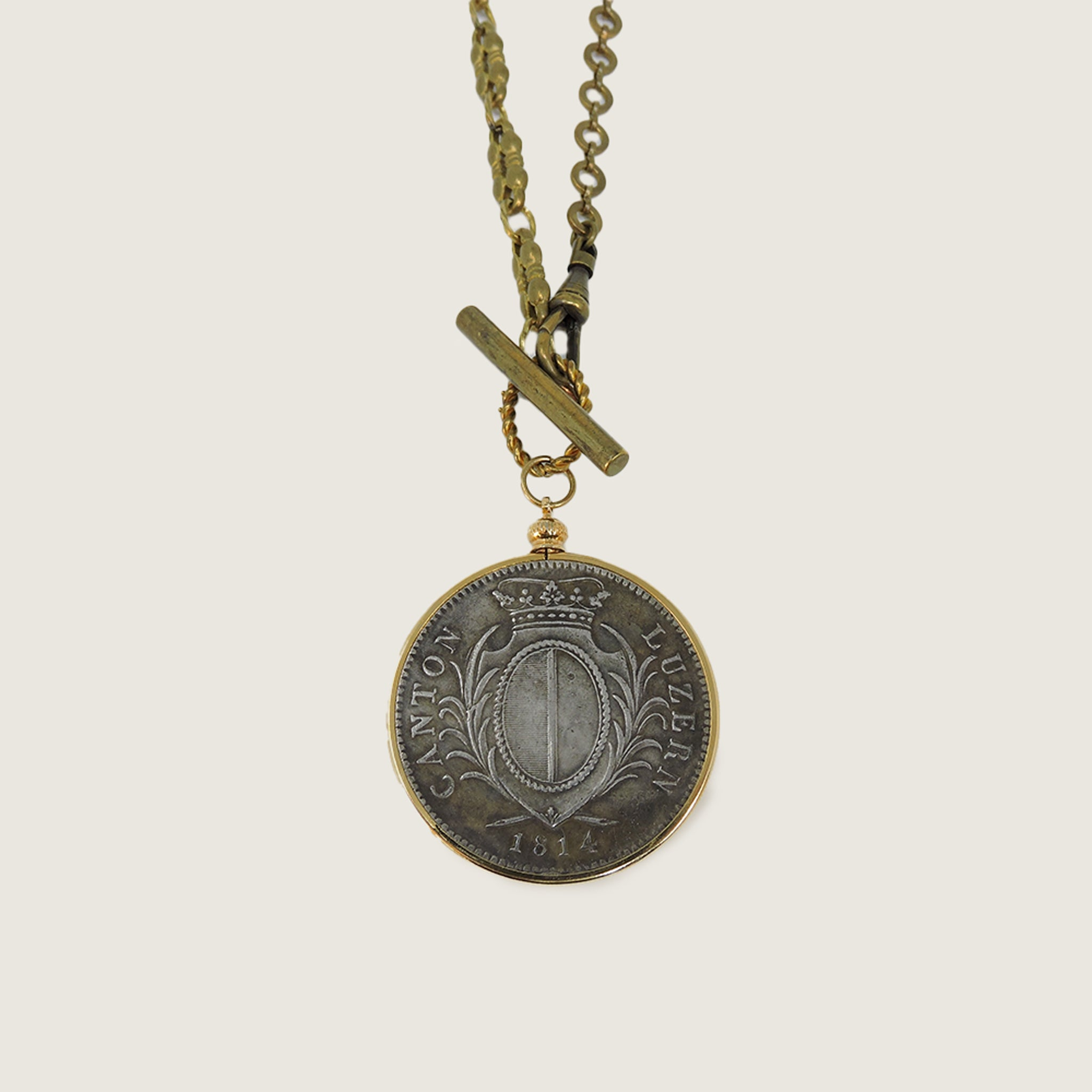 Swiss Coin Necklace - Blackbird General Store