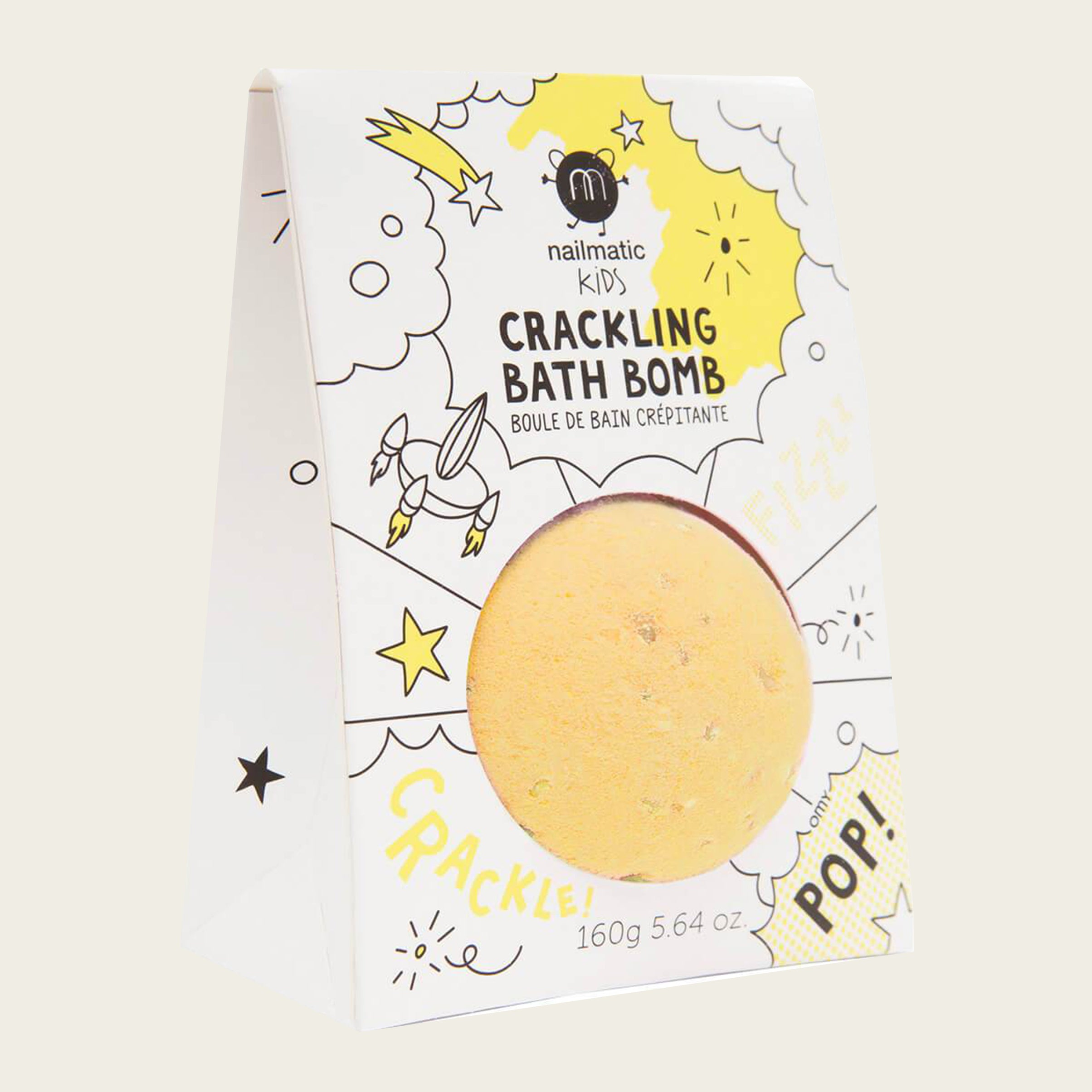 Crackling Bath Bombs Yellow - Blackbird General Store