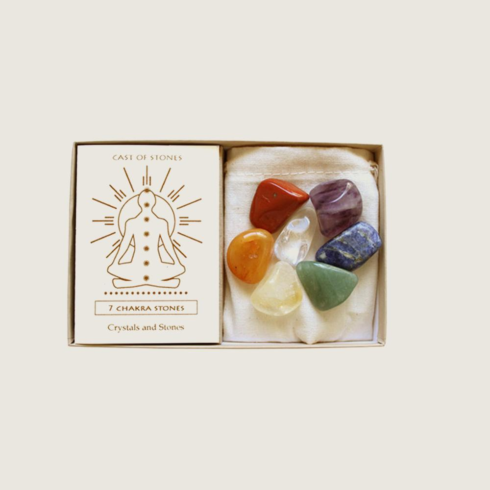 7 Chakra Stone Set - Blackbird General Store