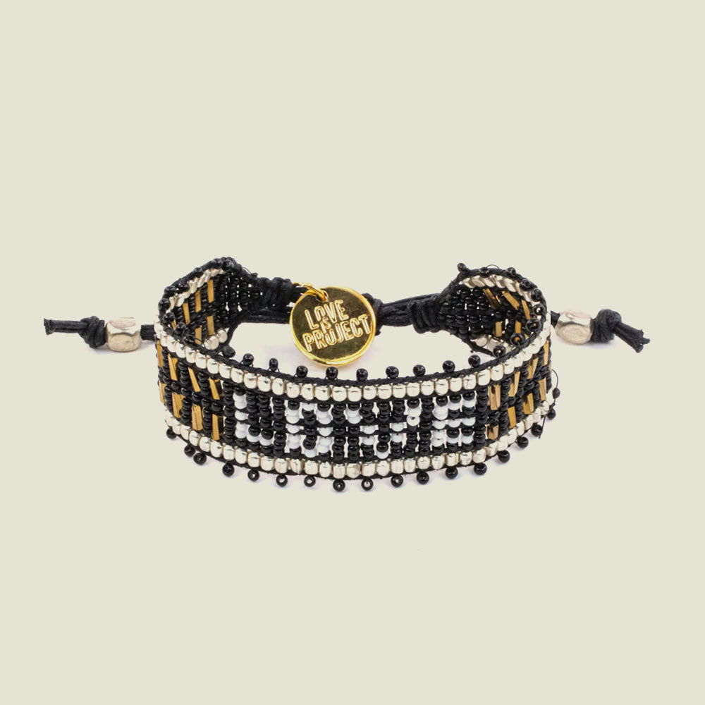 Black LOVE Bracelet - Blackbird General Store
