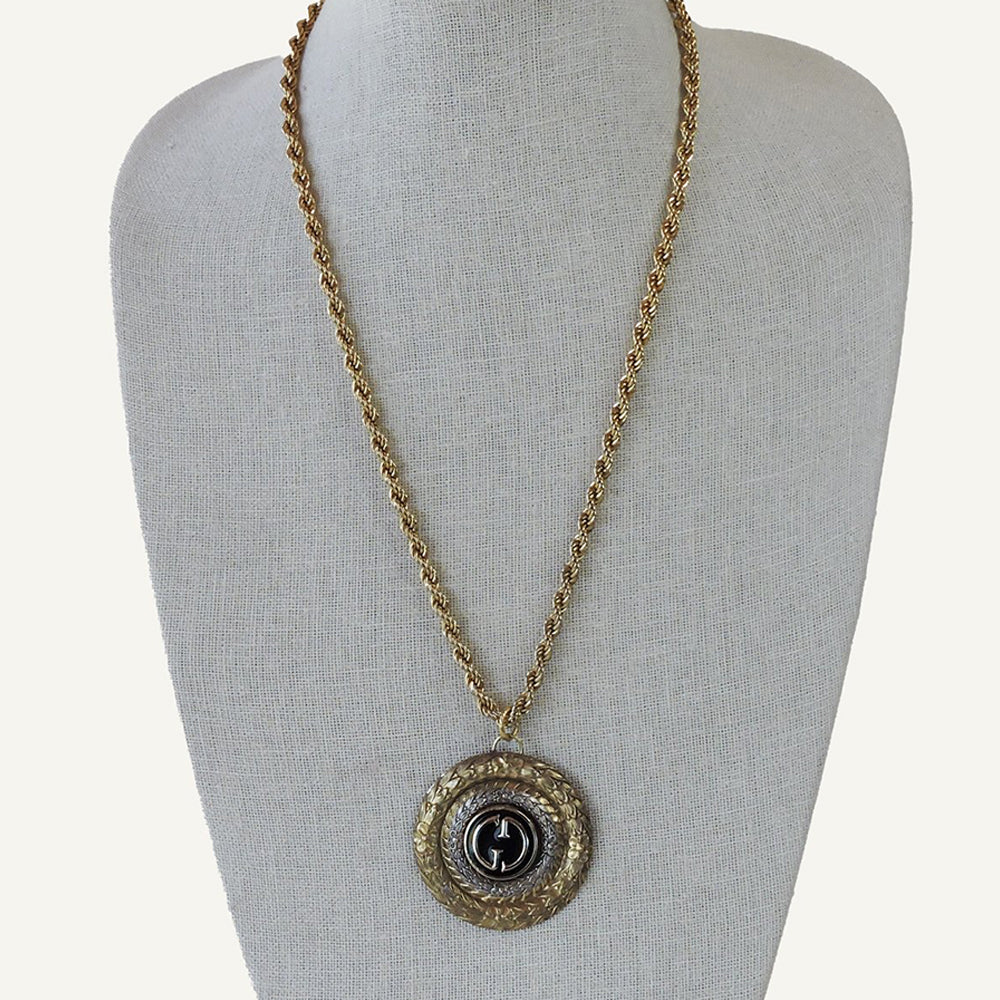 Vintage Gucci Upcycled Necklace - Blackbird General Store