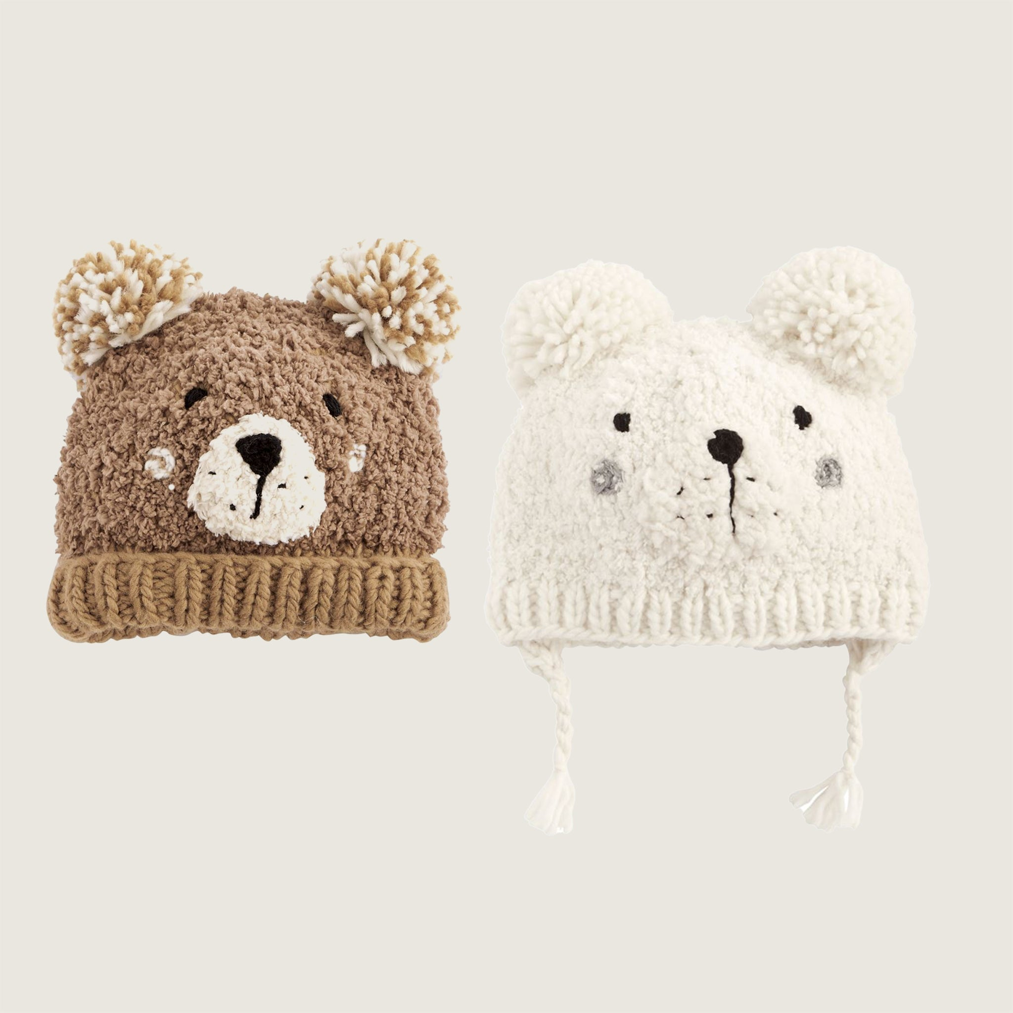 Bear Knit Hat - Blackbird General Store