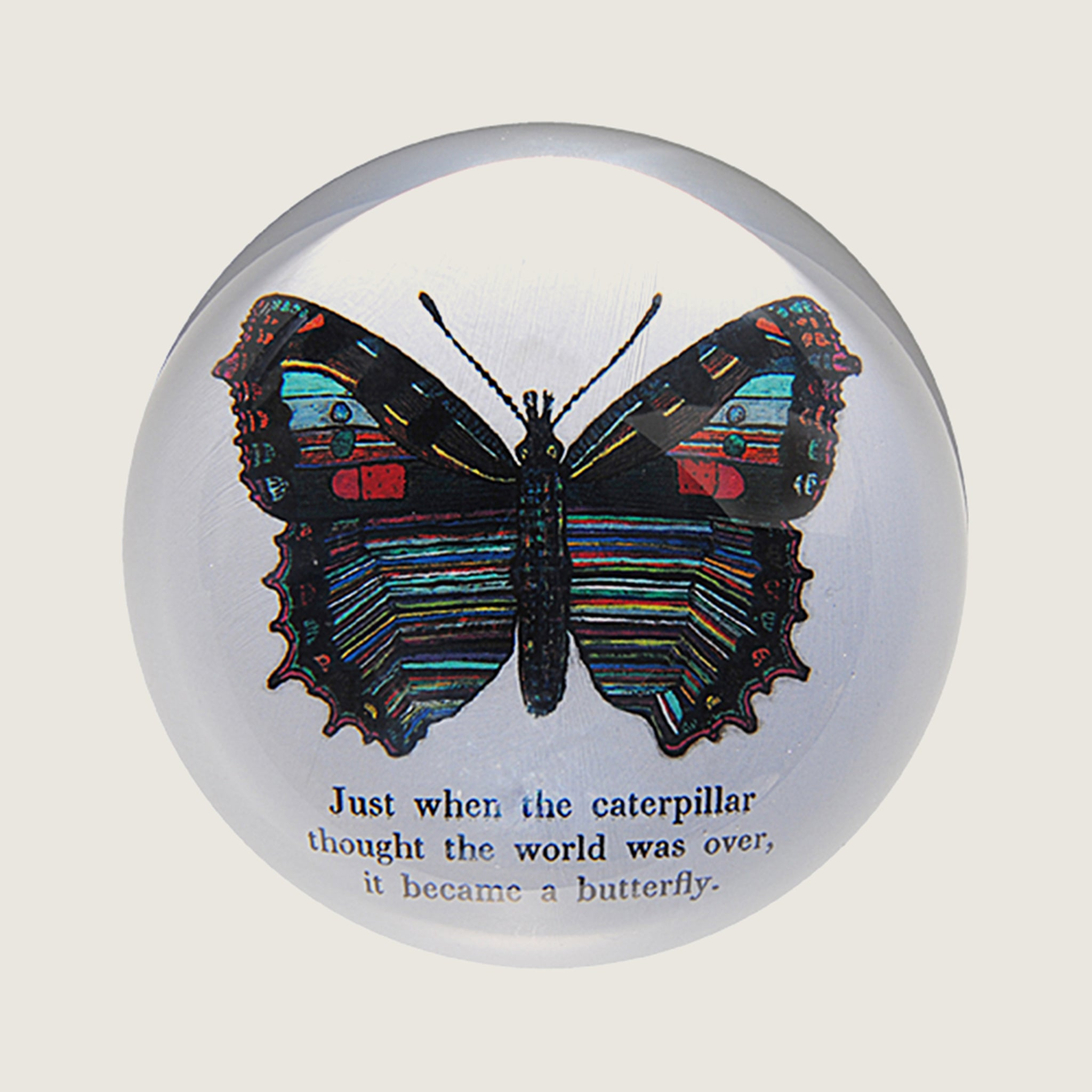 Butterfly Paper Weight - Blackbird General Store