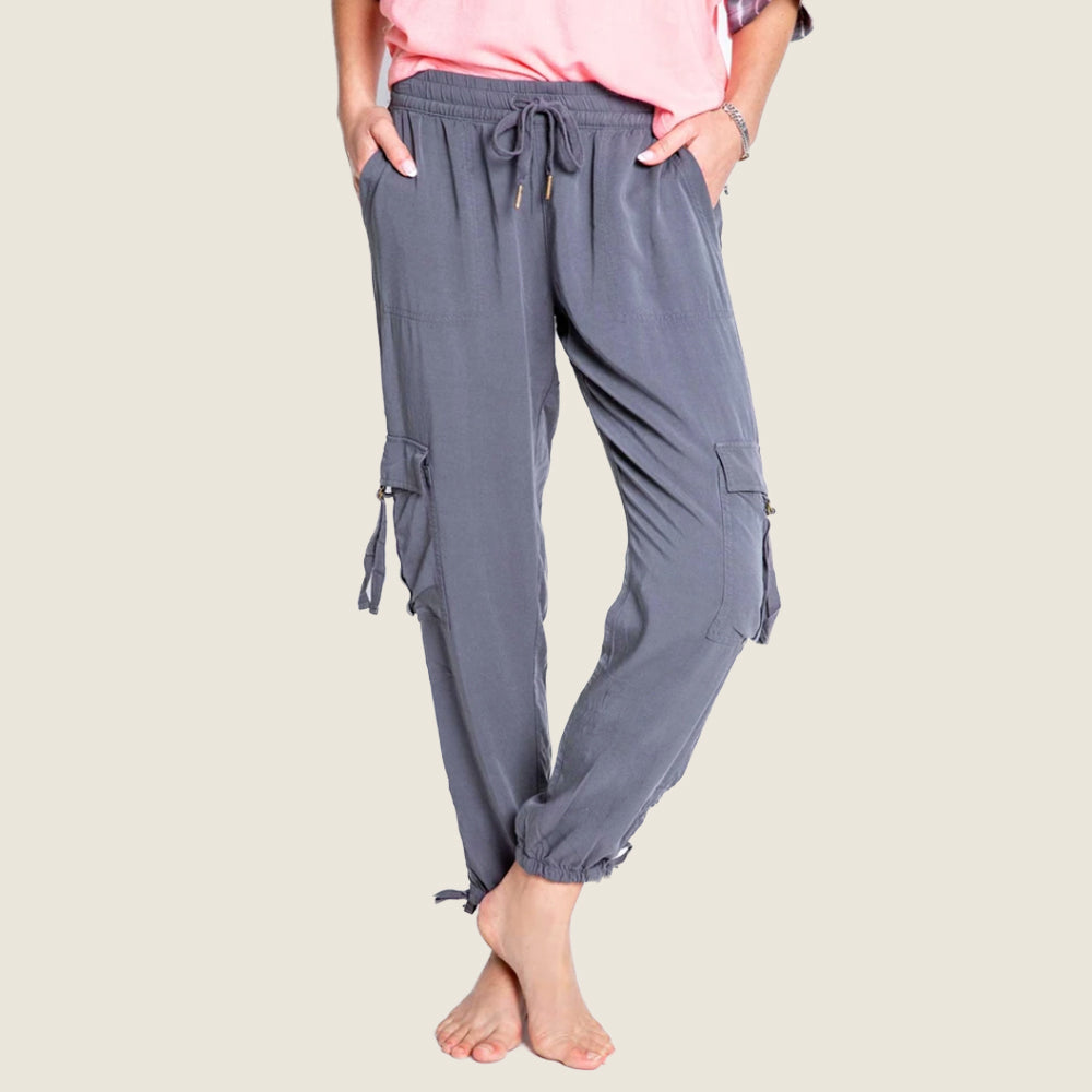 Sunset Glow Charcoal Pant - Blackbird General Store