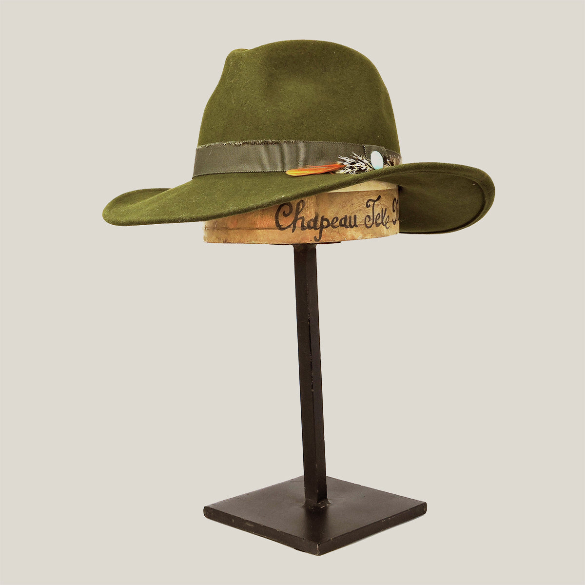 Dallas Fedora Army Green - Blackbird General Store