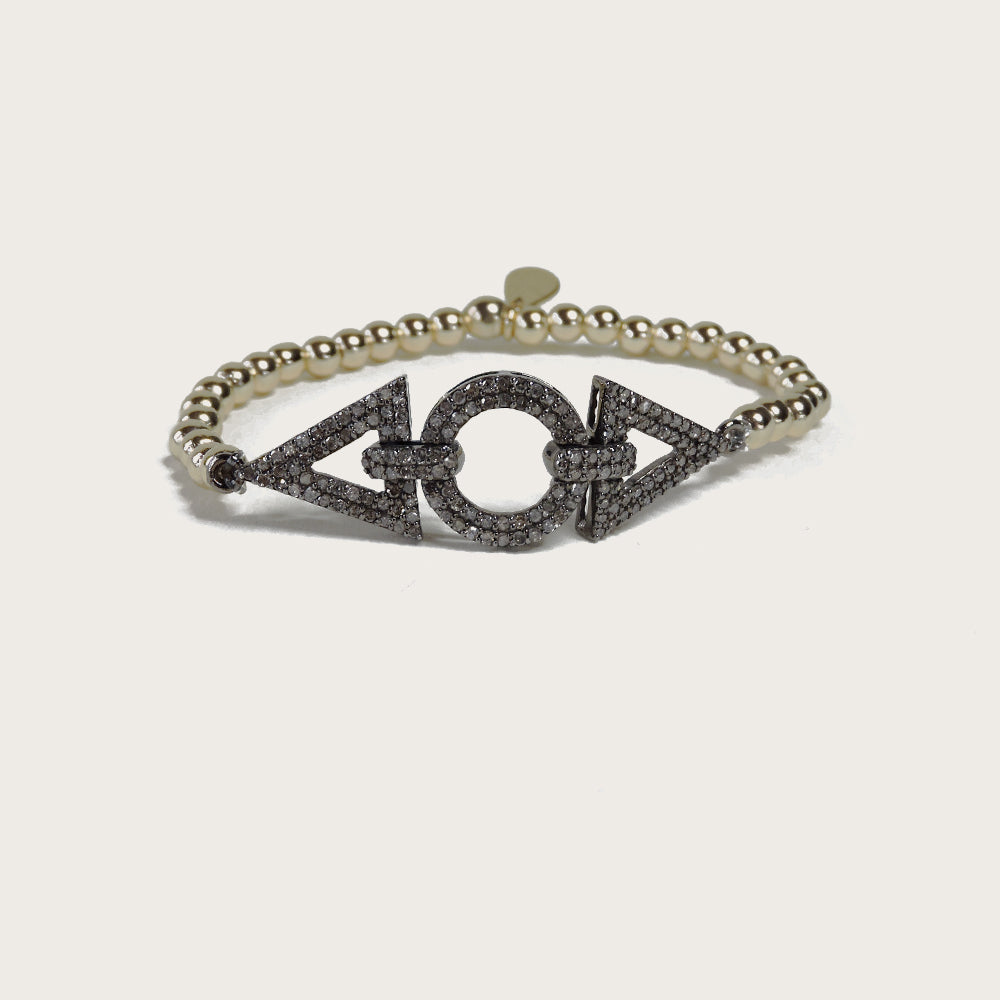 Diamond Geometric Bracelet - Blackbird General Store