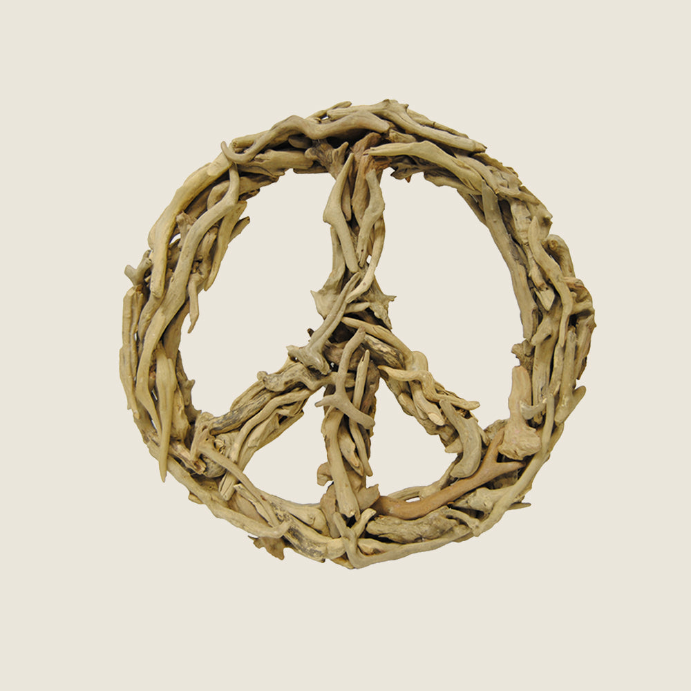 Driftwood Peace Sign - Blackbird General Store