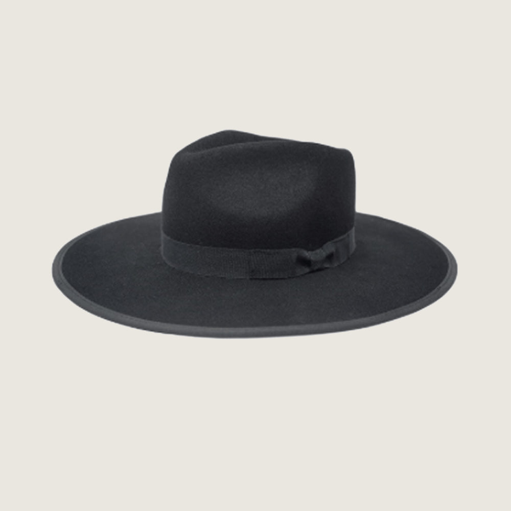 Astoria Black Fedora - Blackbird General Store