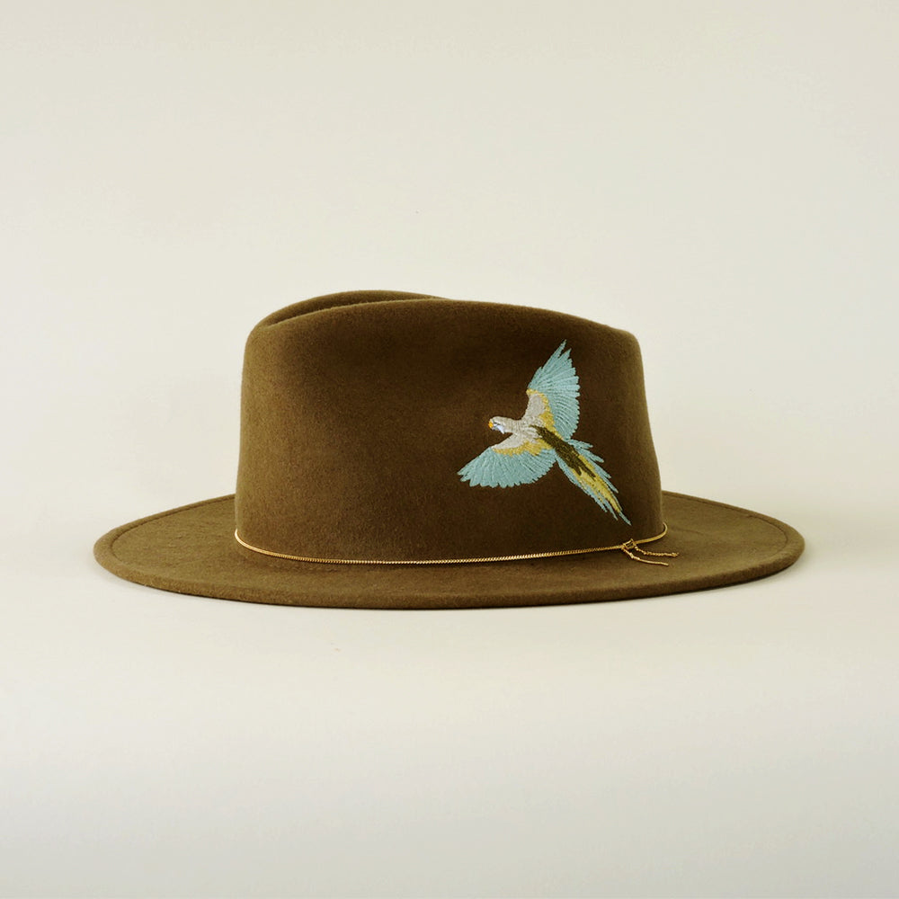 Dakota Beige Lagoon Crushable Bird Hat - Blackbird General Store