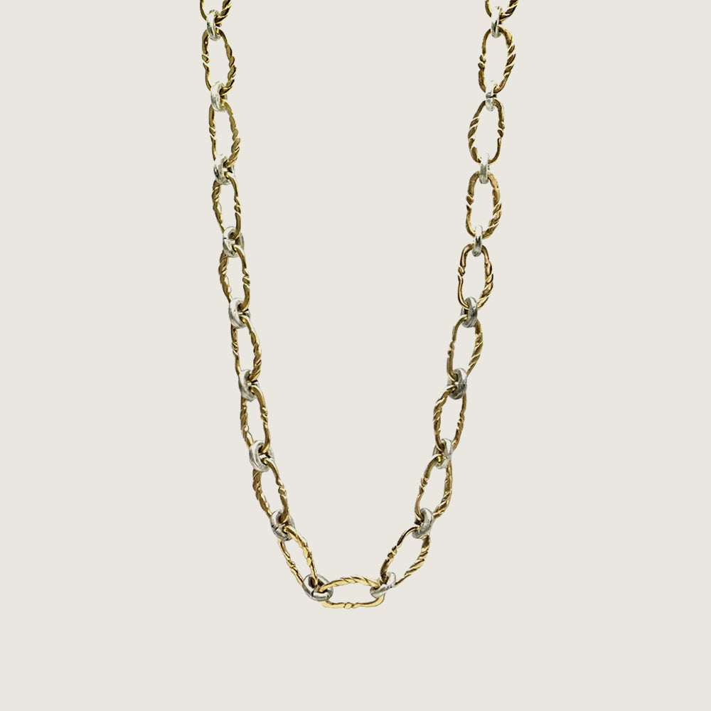 Gold Twisted Link Necklace - Blackbird General Store
