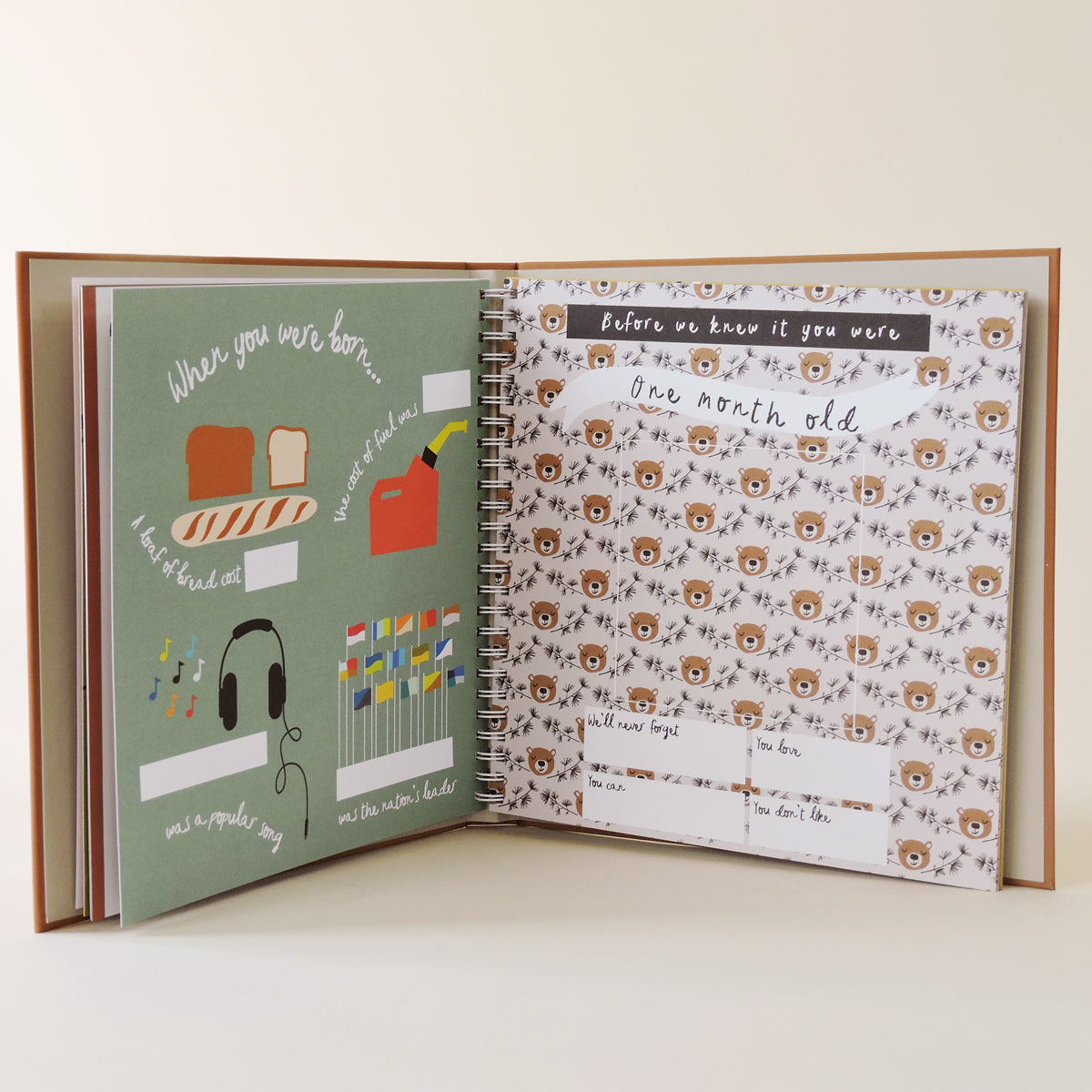 Little Camper Baby Book - Blackbird General Store