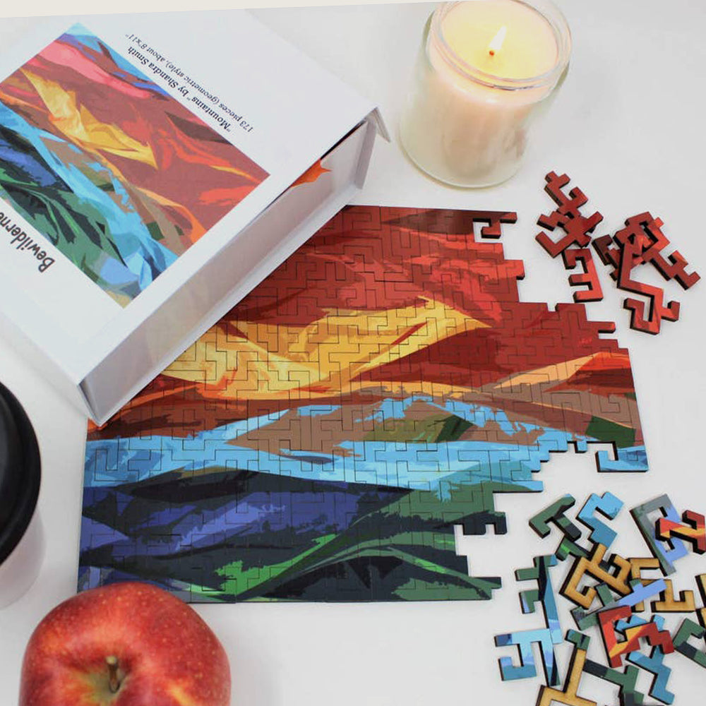 Mountains Jigsaw Puzzle - Shipping in 2 weeks - Blackbird General Store