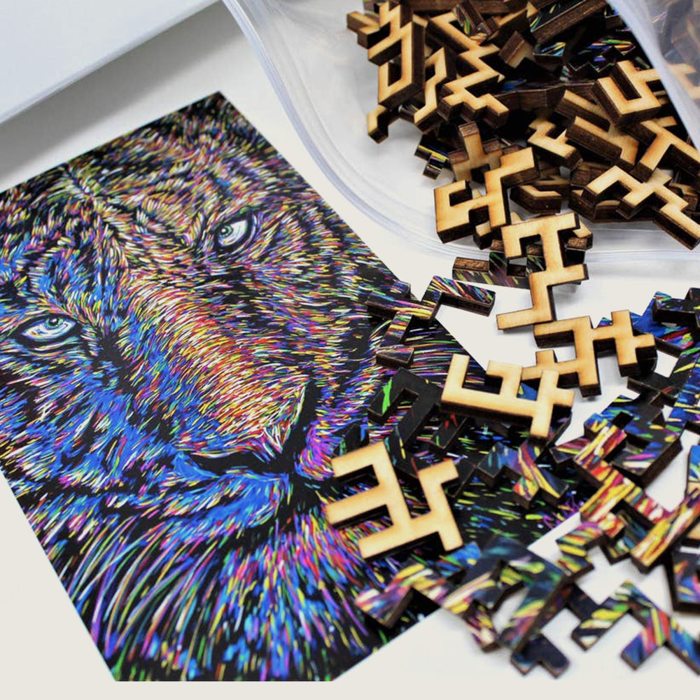 Eye of the Tiger Jigsaw Puzzle - Blackbird General Store