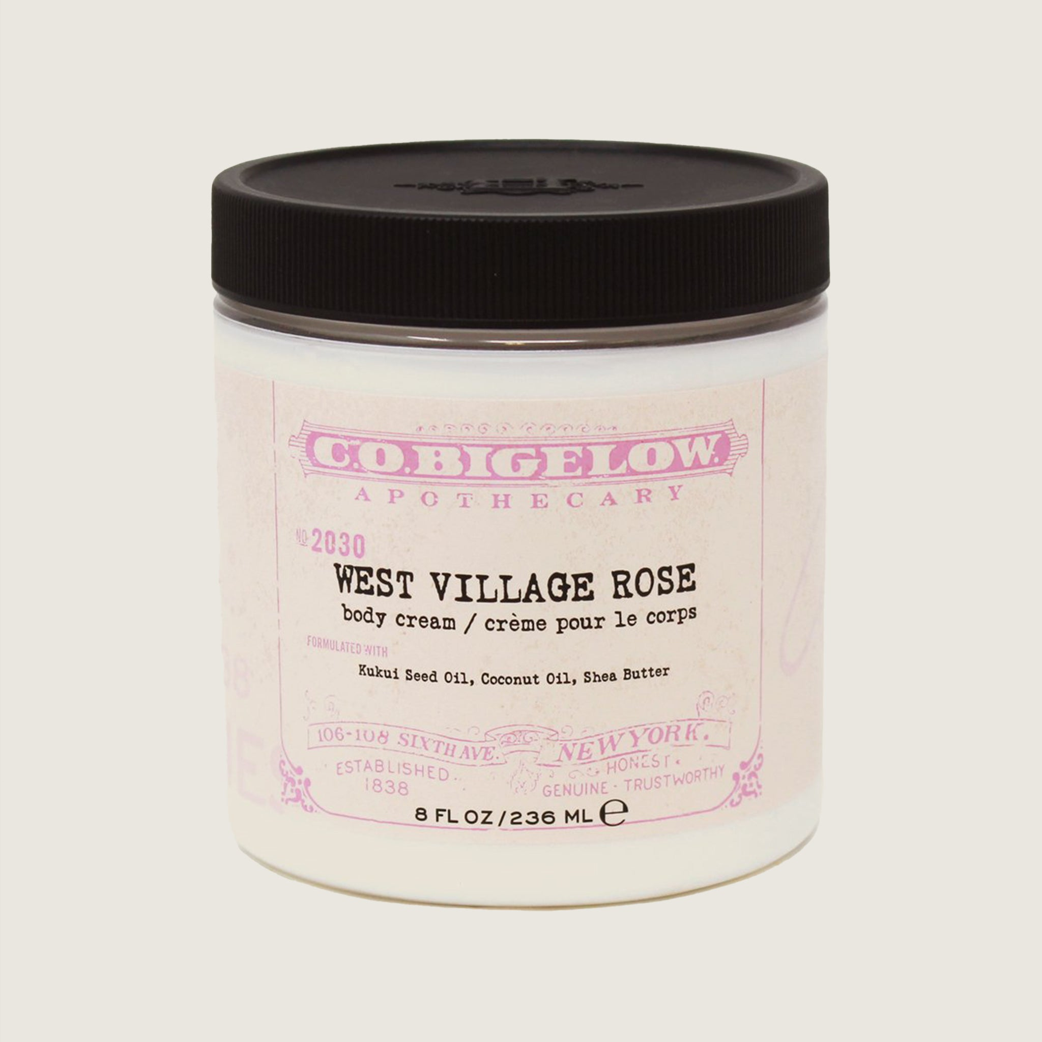 West Village Rose Body Cream - Blackbird General Store