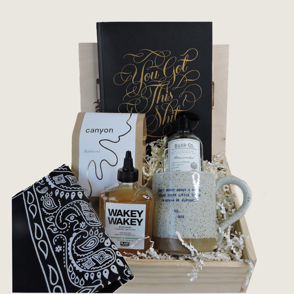 """You've Got This Sh*t"" Gift Box - Blackbird General Store"
