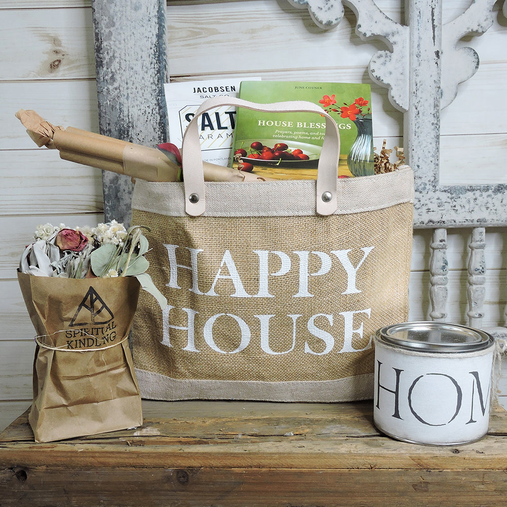 """Happy House"" Gift Bag - Blackbird General Store"