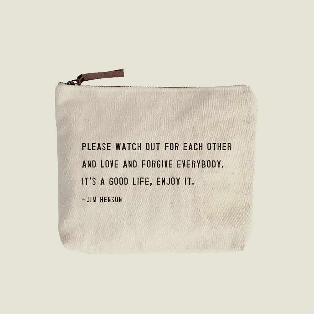 Canvas Pouch - Various Styles - Blackbird General Store