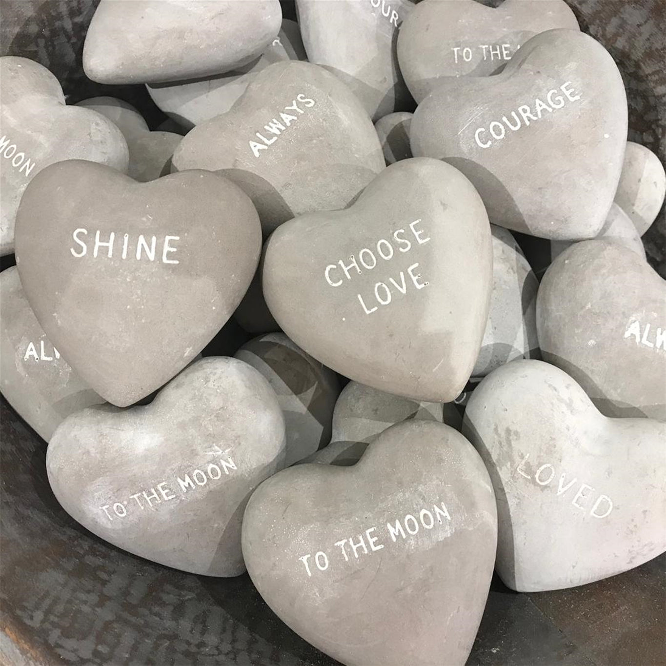 Stone Hearts Assorted