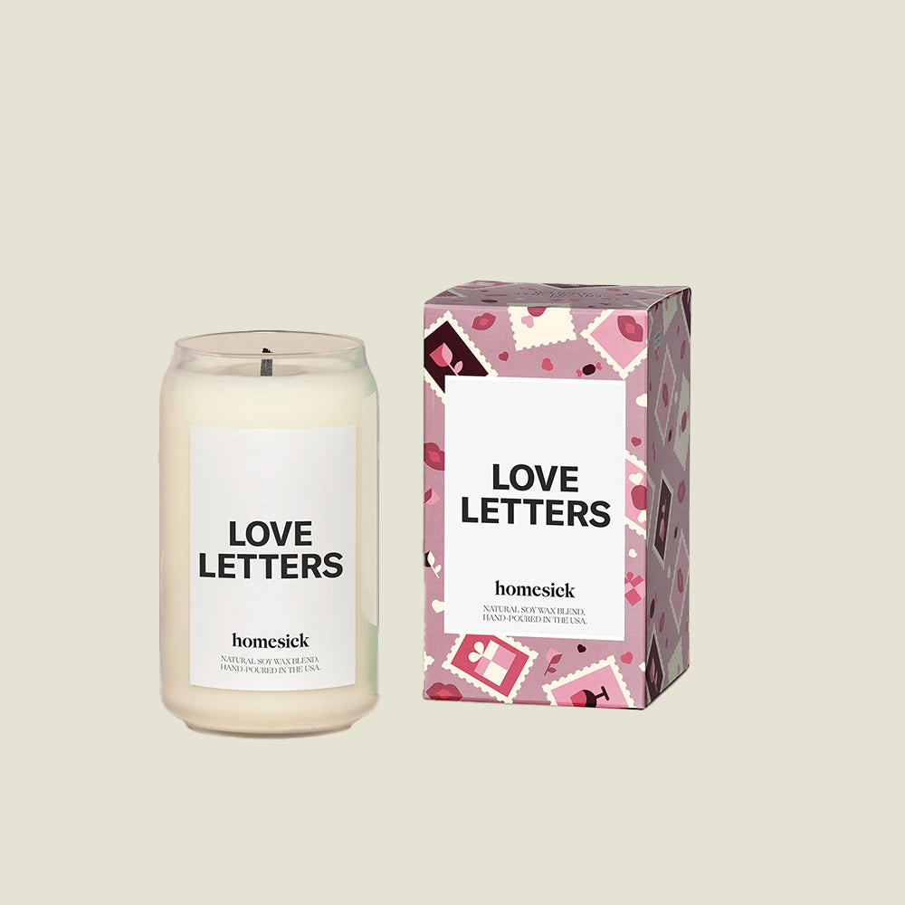 Love Letters Candle - Blackbird General Store