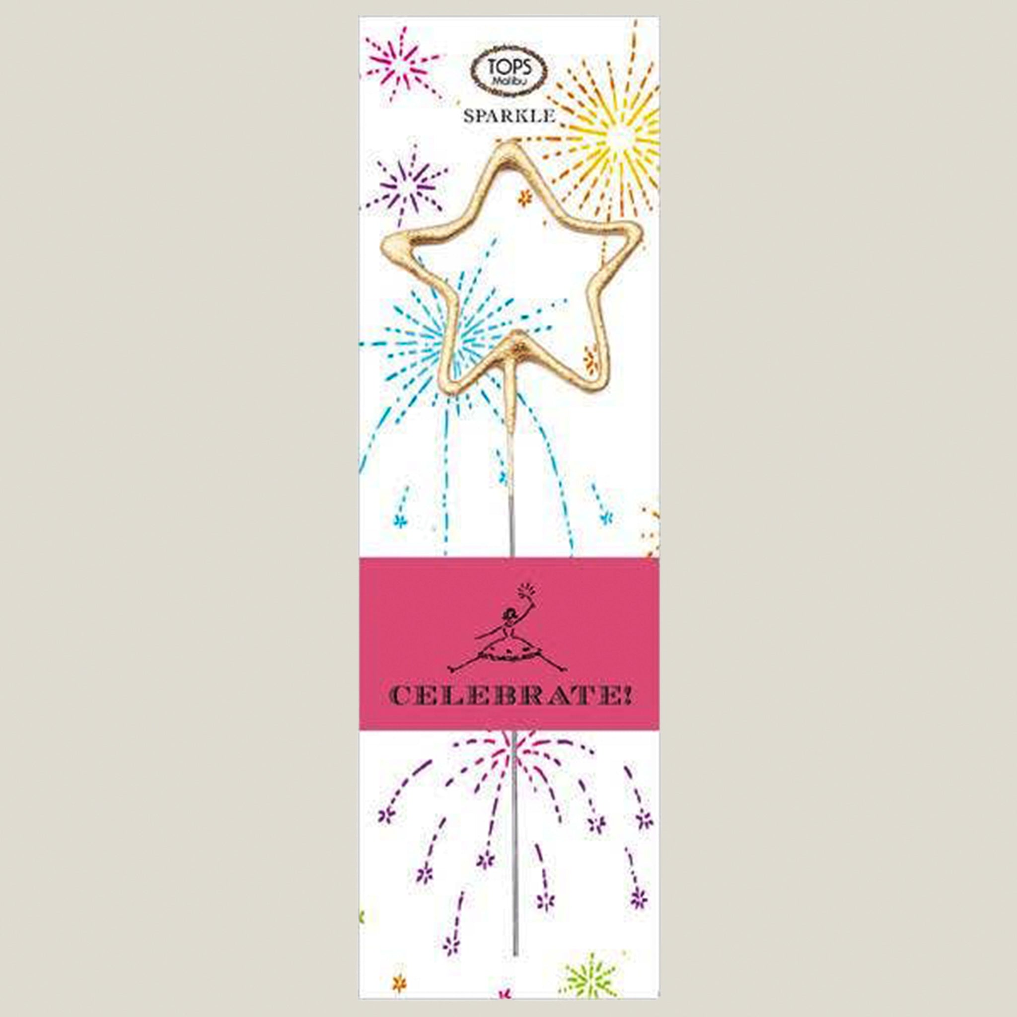 Big Golden Sparkler Wand Celebrate - Blackbird General Store