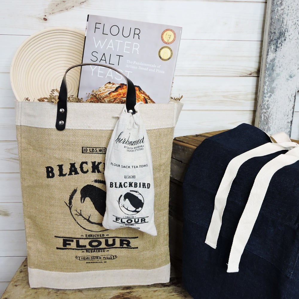 """Bake Some Bread"" Bag - Blackbird General Store"